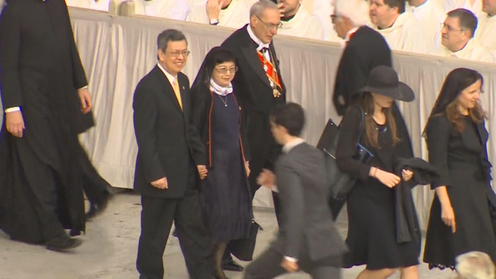 陳建仁期望教宗能訪問台灣