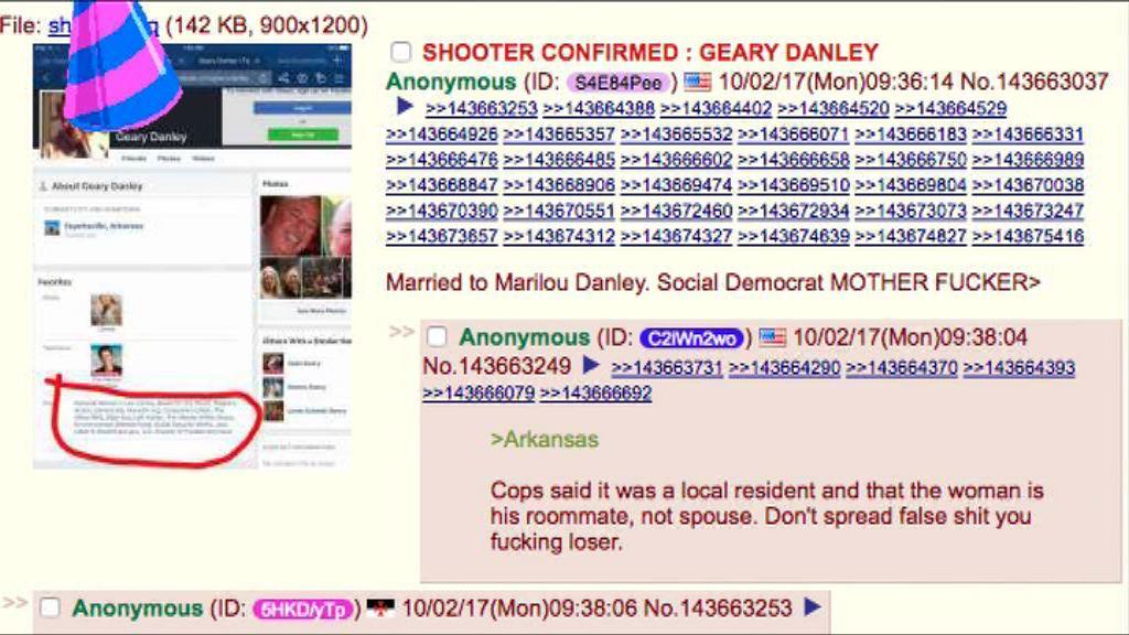 拉斯維加斯槍擊案 網上一度誤傳槍手身分