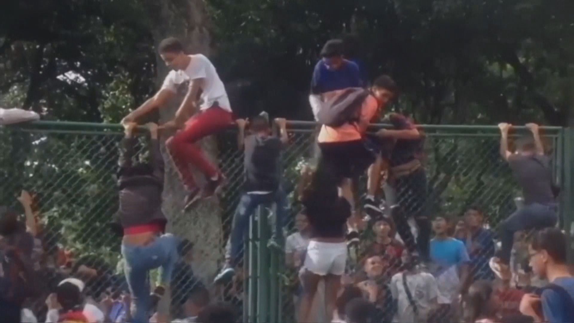 委內瑞拉音樂會發生人踩人多人死傷