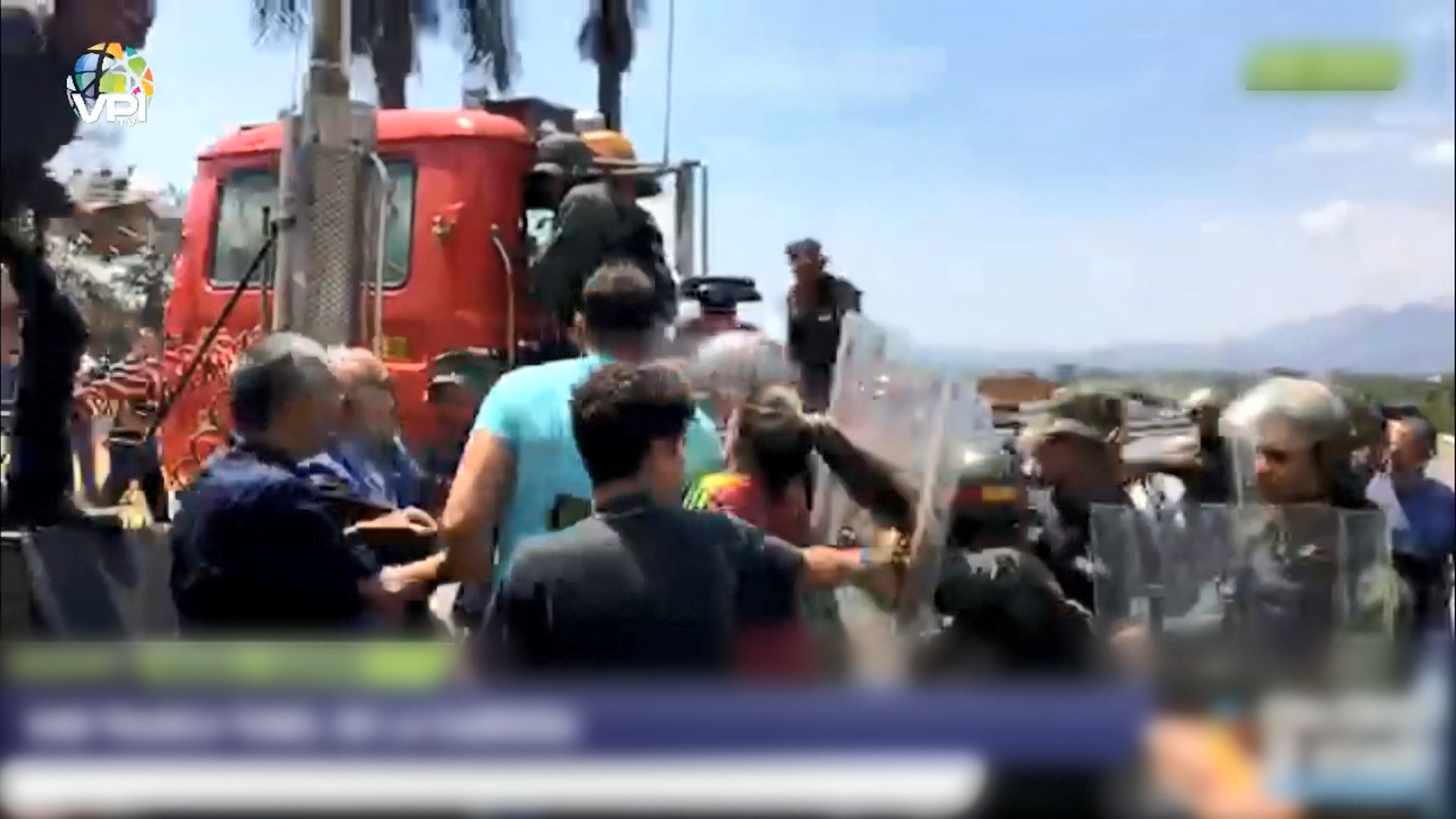 委內瑞拉反對派擬動員試圖從邊境運入物資