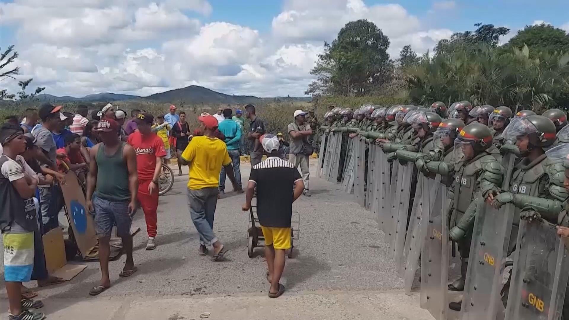 委內瑞拉反對派譴責軍方對平民使用武力