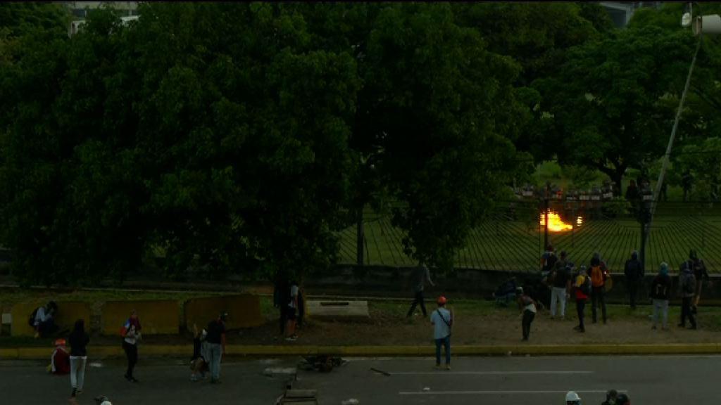 委內瑞拉反政府示威再爆警民衝突