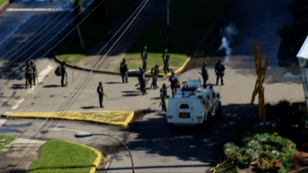 委內瑞拉軍事基地遇襲 軍方重申效忠總統