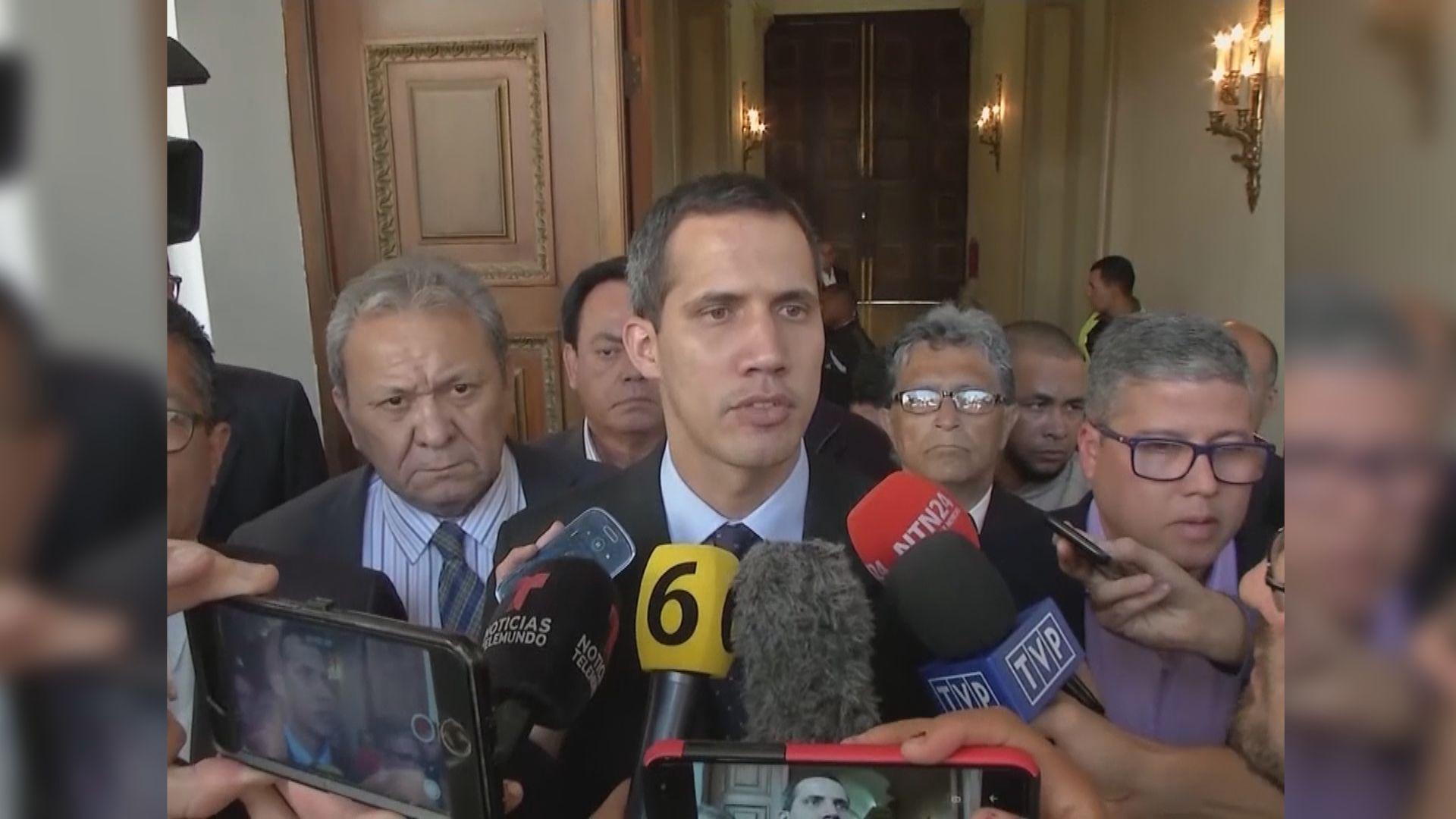 瓜伊多:已與軍方等代表秘密會面