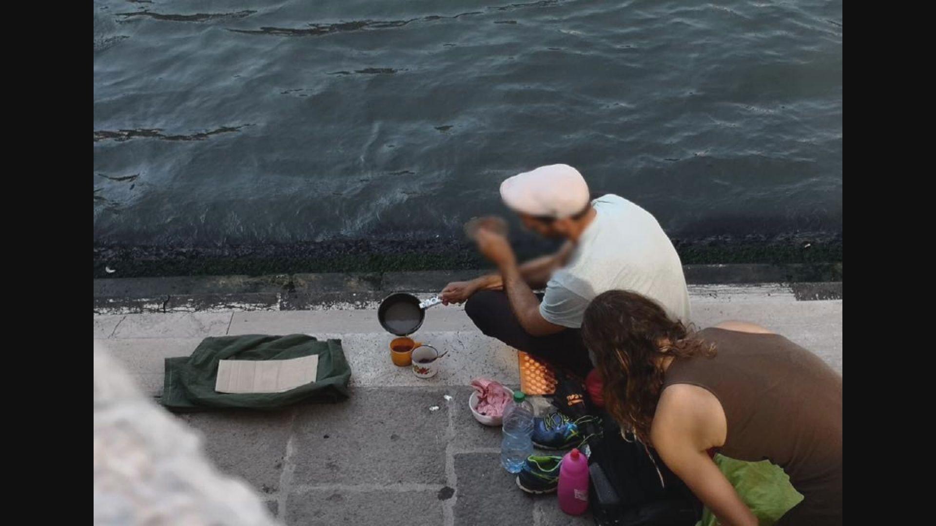 威尼斯有遊客在景點煮咖啡被罰款