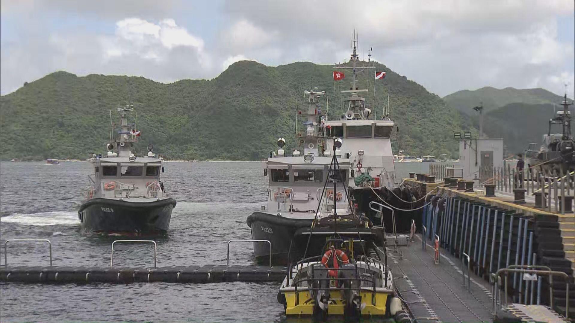 一艘龍舟在西貢翻沉 十三人墮海獲救
