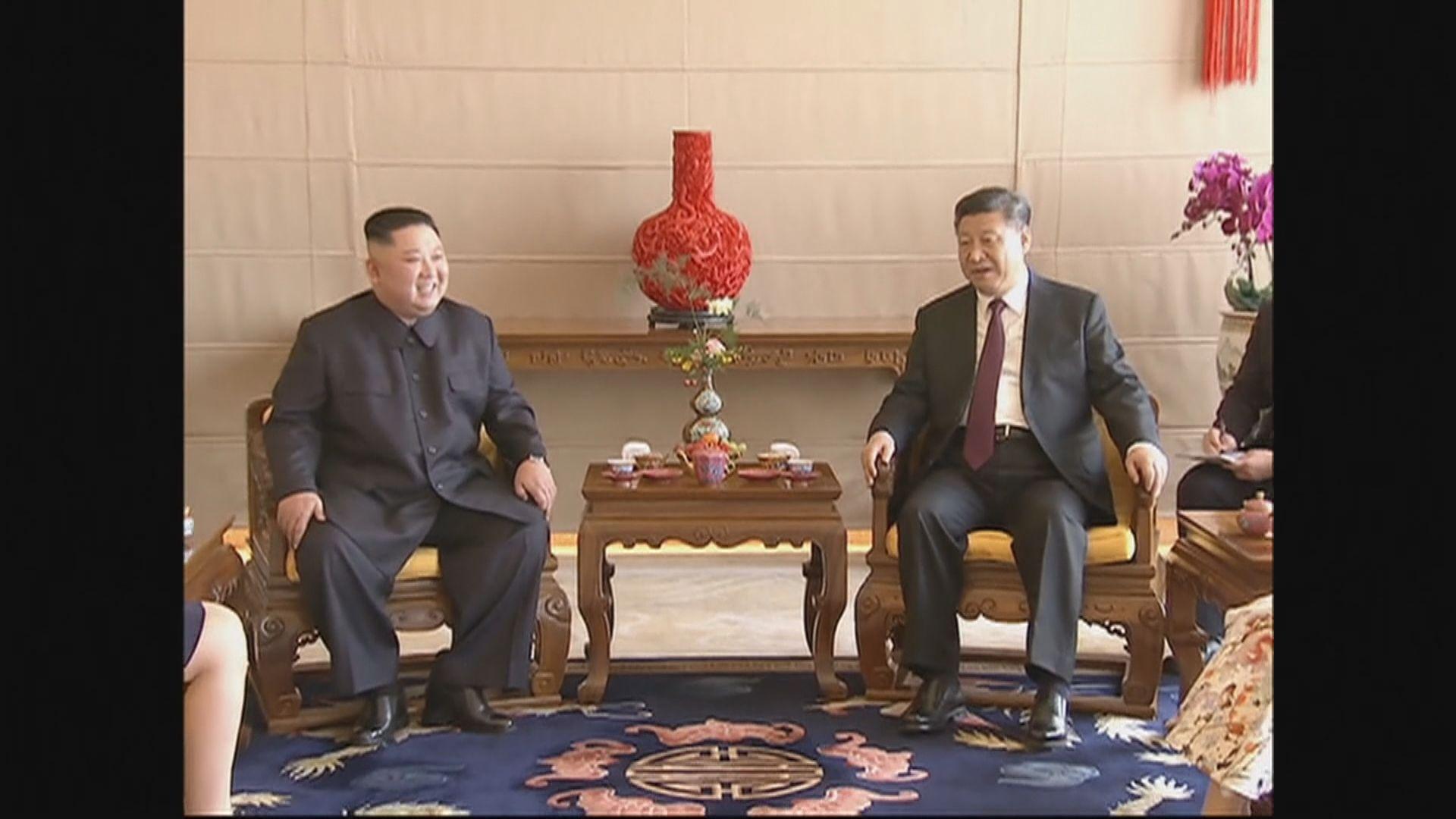 消息指金正恩回程將停留北京與習近平會面