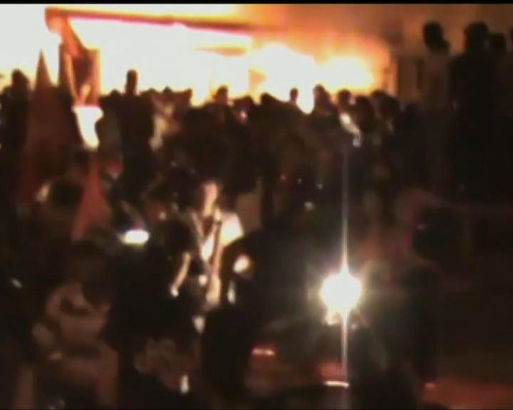 越南反華示威抗議中國建鑽油台