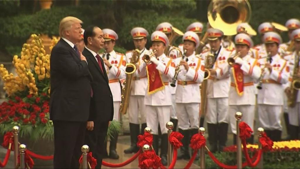 特朗普轉訪河內  將與越南國家主席會談