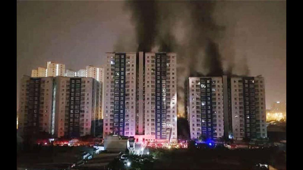 越南公寓火警至少13死27傷