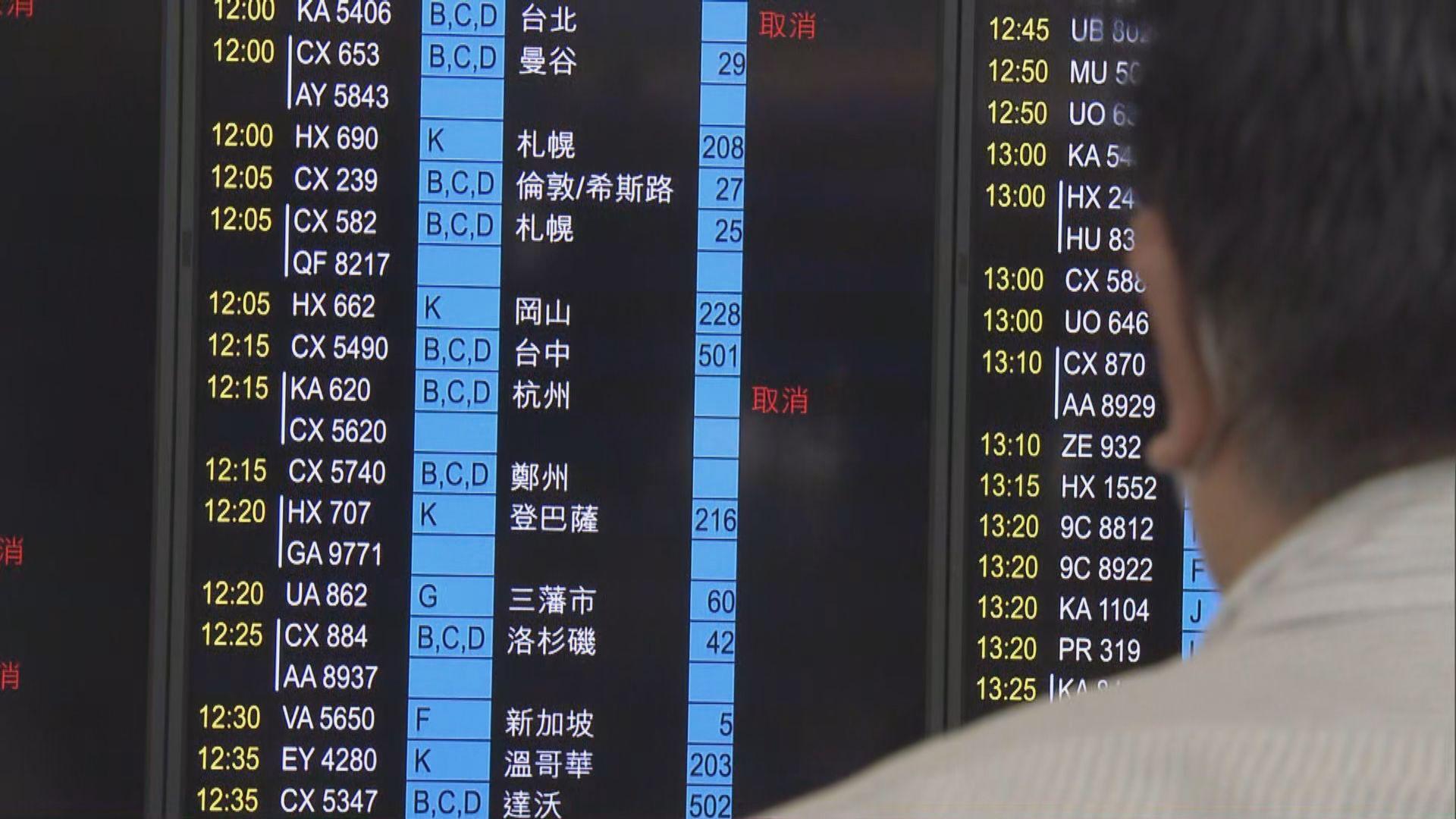 台灣強制入境港人檢疫 赴台人流明顯減少