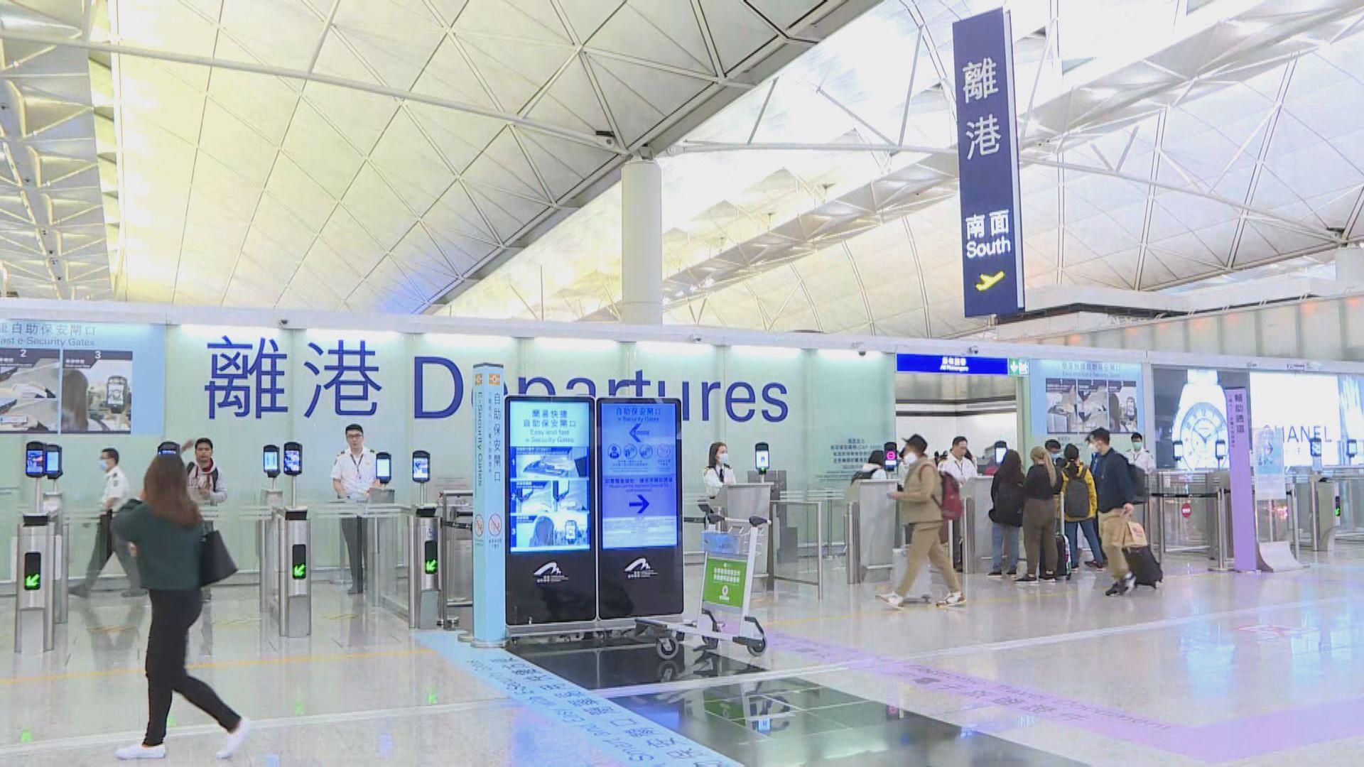 機管局行李運送系統地盤承辦商員工初步確診