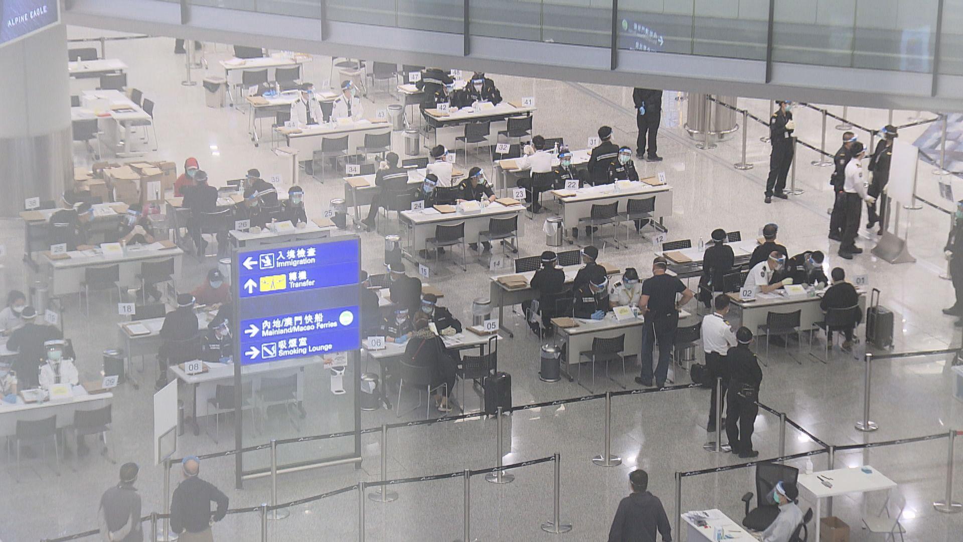 機場測試新核酸檢測及採樣方式 25個案檢測現差異