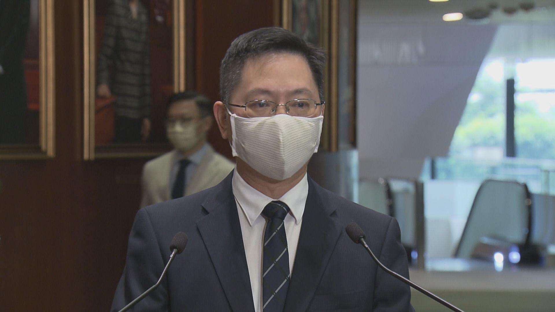 薛永恒:徵詢內地專家意見提升本港健康碼系統