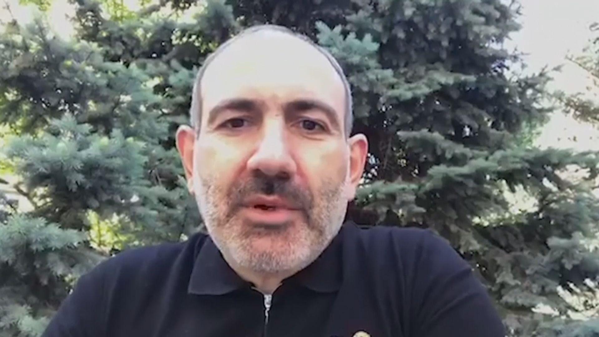 亞美尼亞總理帕希尼揚感染新冠病毒