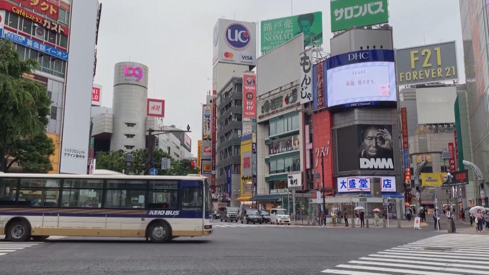 東京都新增188宗新冠病毒確診個案