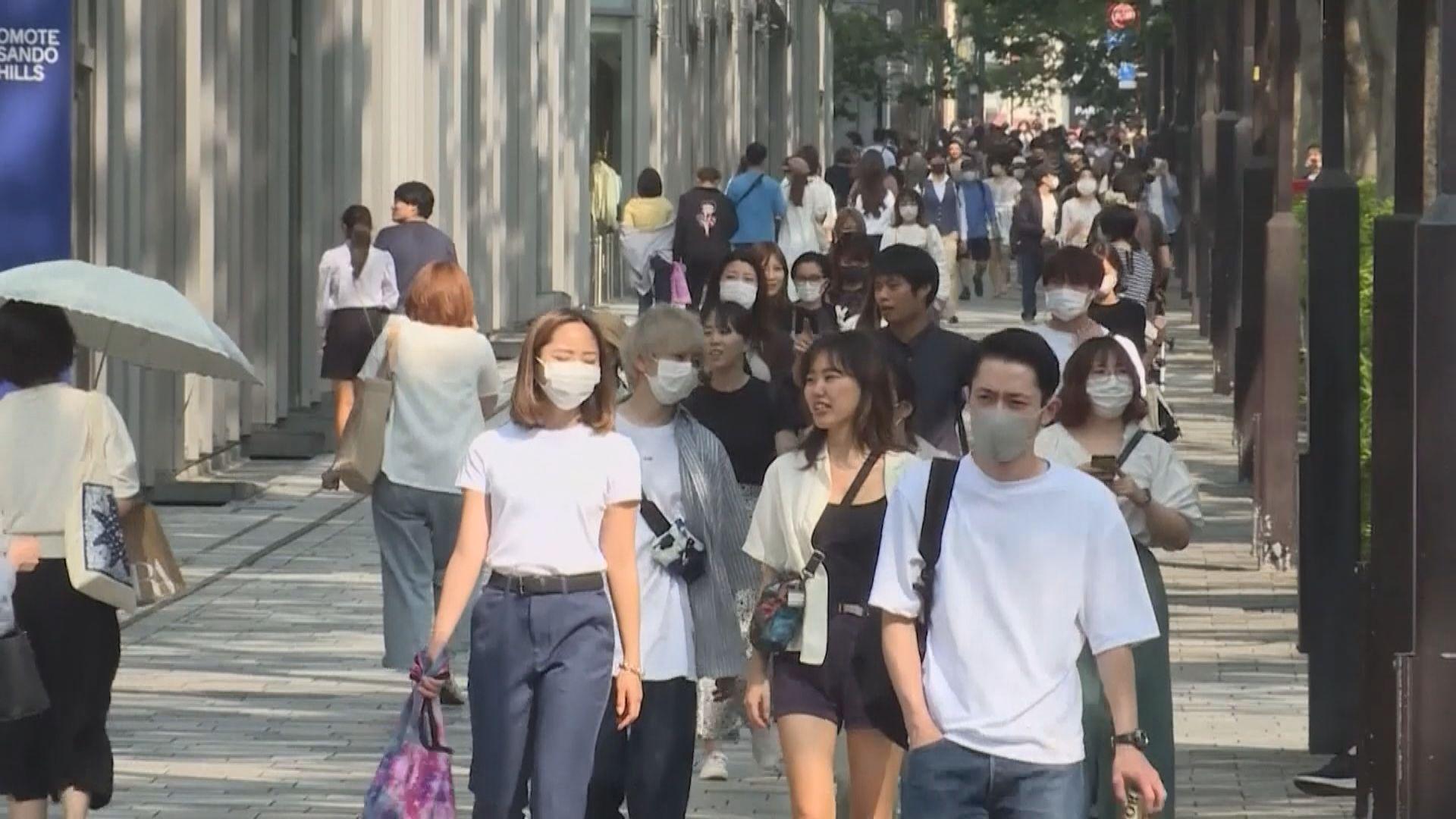 日本全國連續五天錄得逾千宗病例 沖繩近一星期確診比率居全國之首