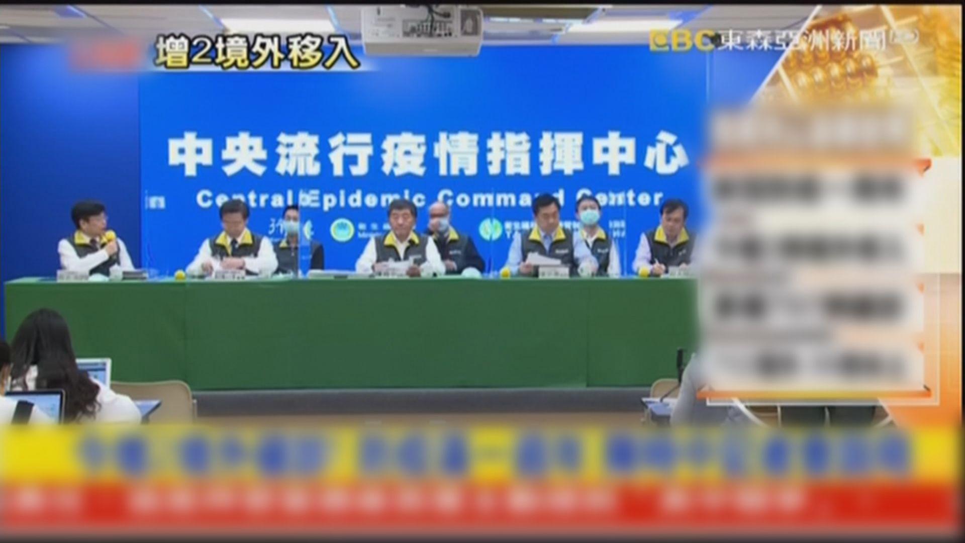 台灣現變種新冠病毒首例 元旦起禁外籍人士入境
