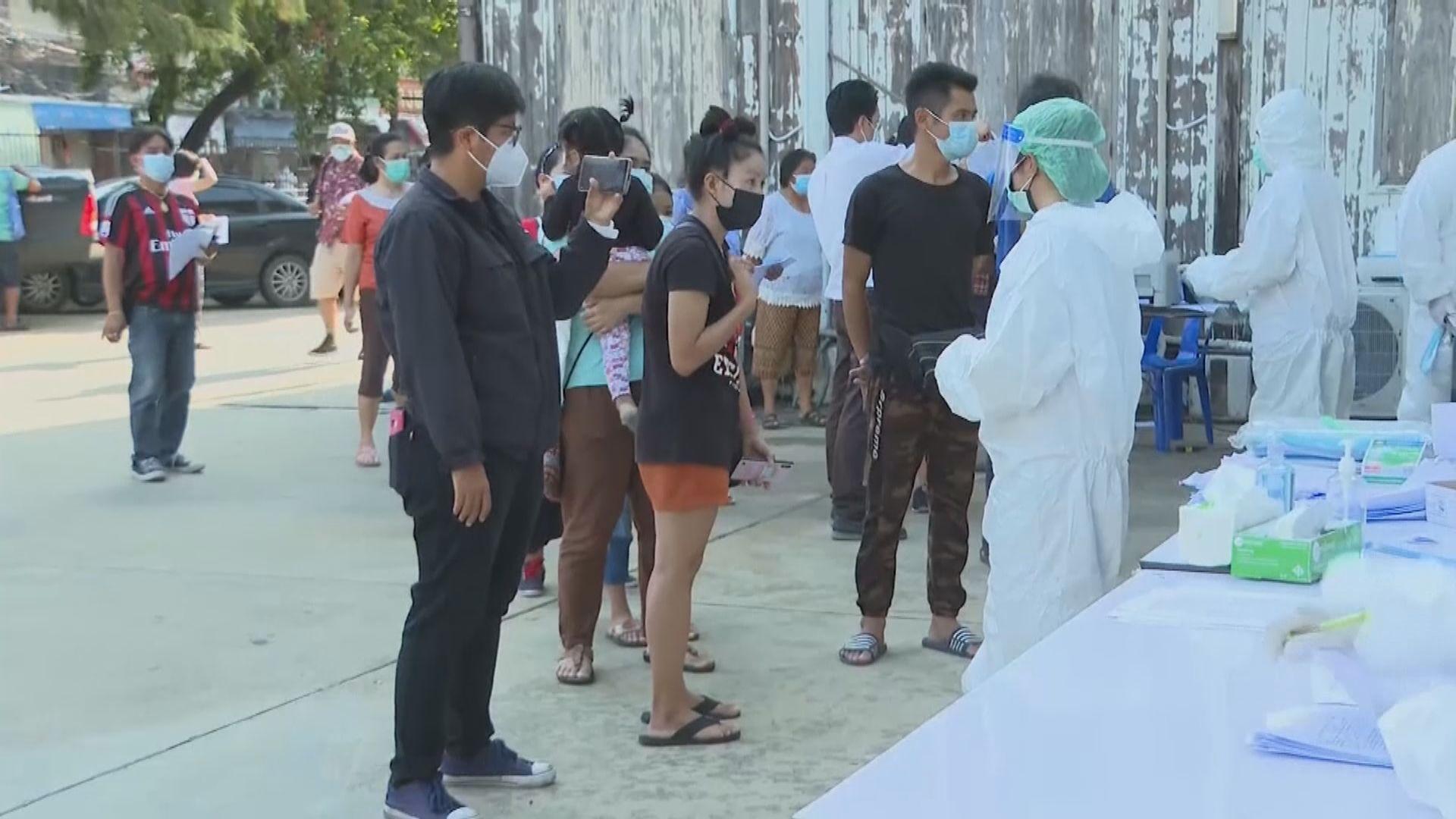 亞洲多地新冠疫情持續 泰國增近萬宗確診創單日新高