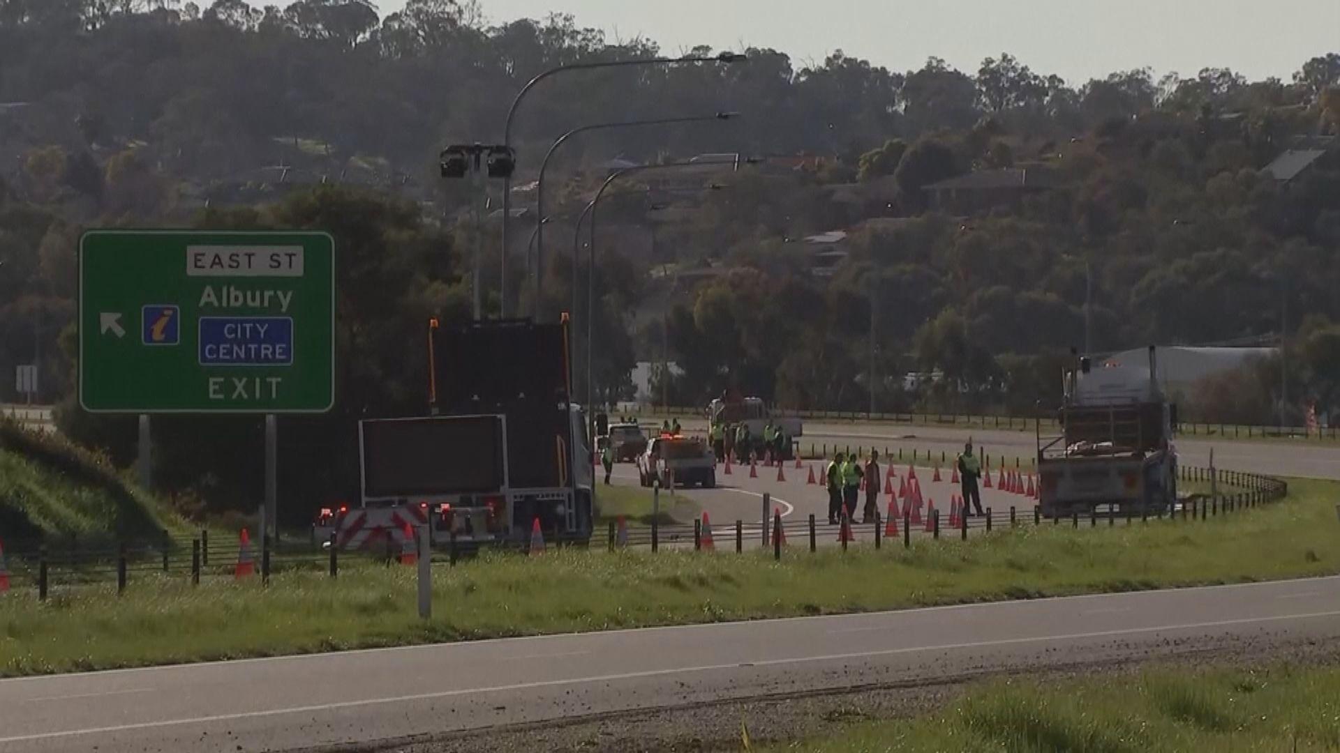 澳洲多個州份關閉接壤維多利亞州邊界