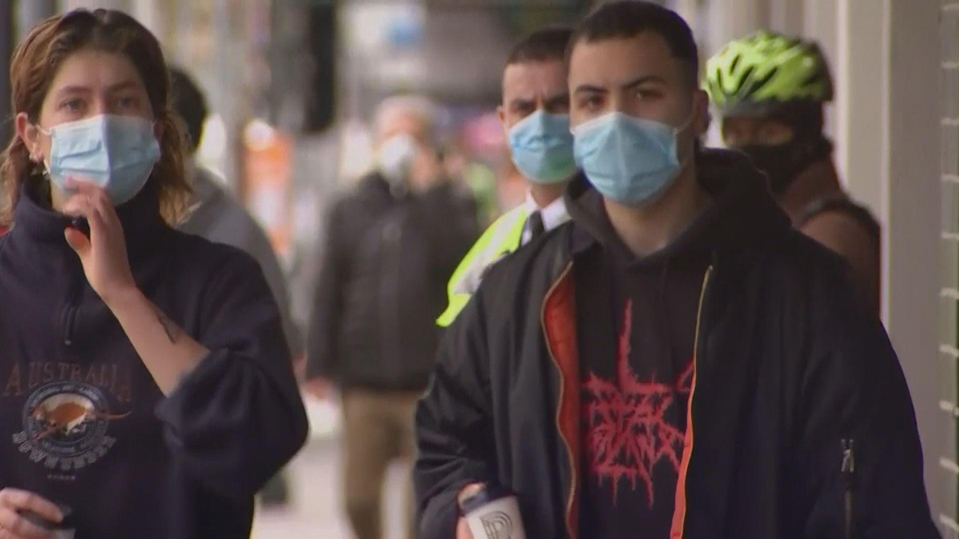 墨爾本再增新冠病例 當局推遲放寬防疫措施