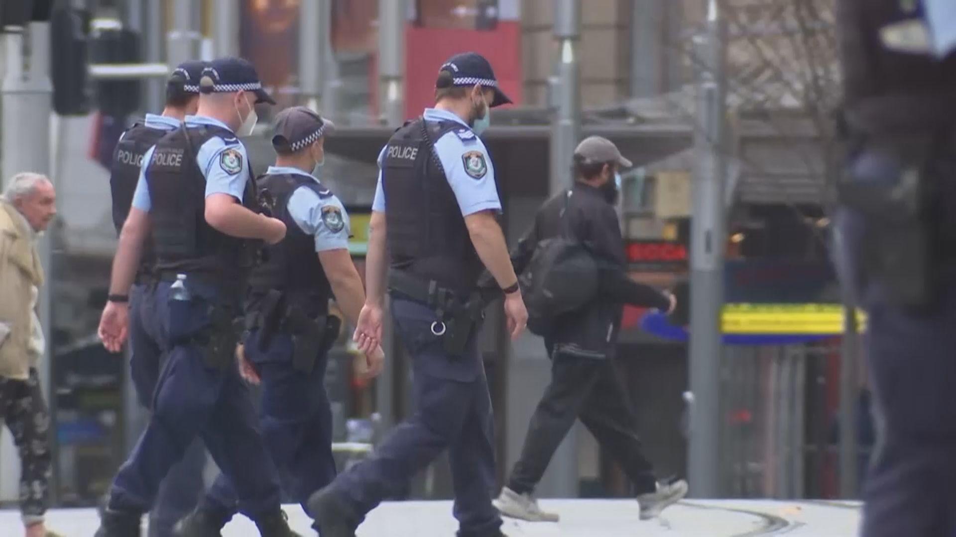 澳洲新南威爾士州動員過千軍警就防疫措施執法