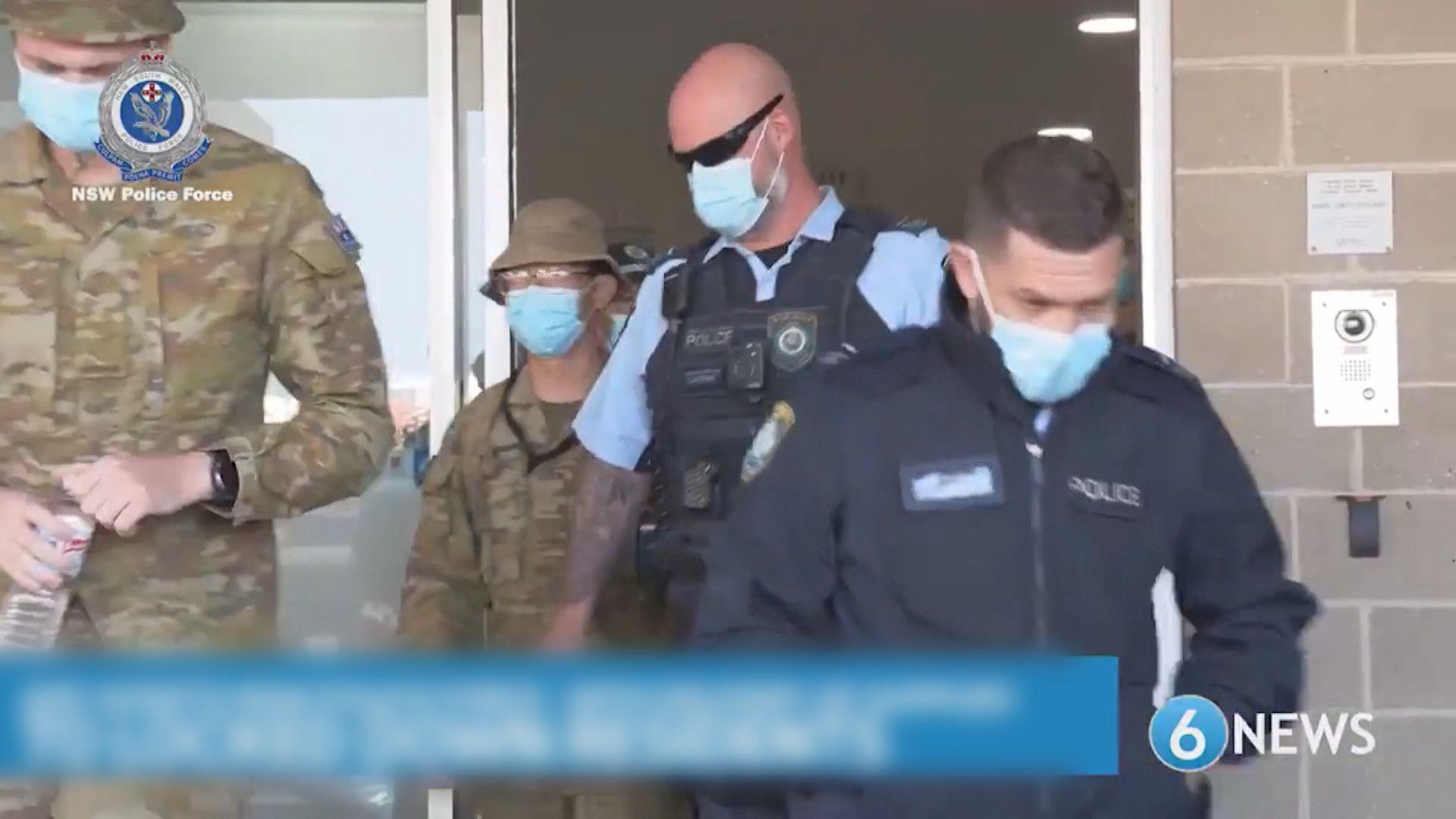 澳洲布里斯班延長封城至周日 軍人到悉尼協助巡邏