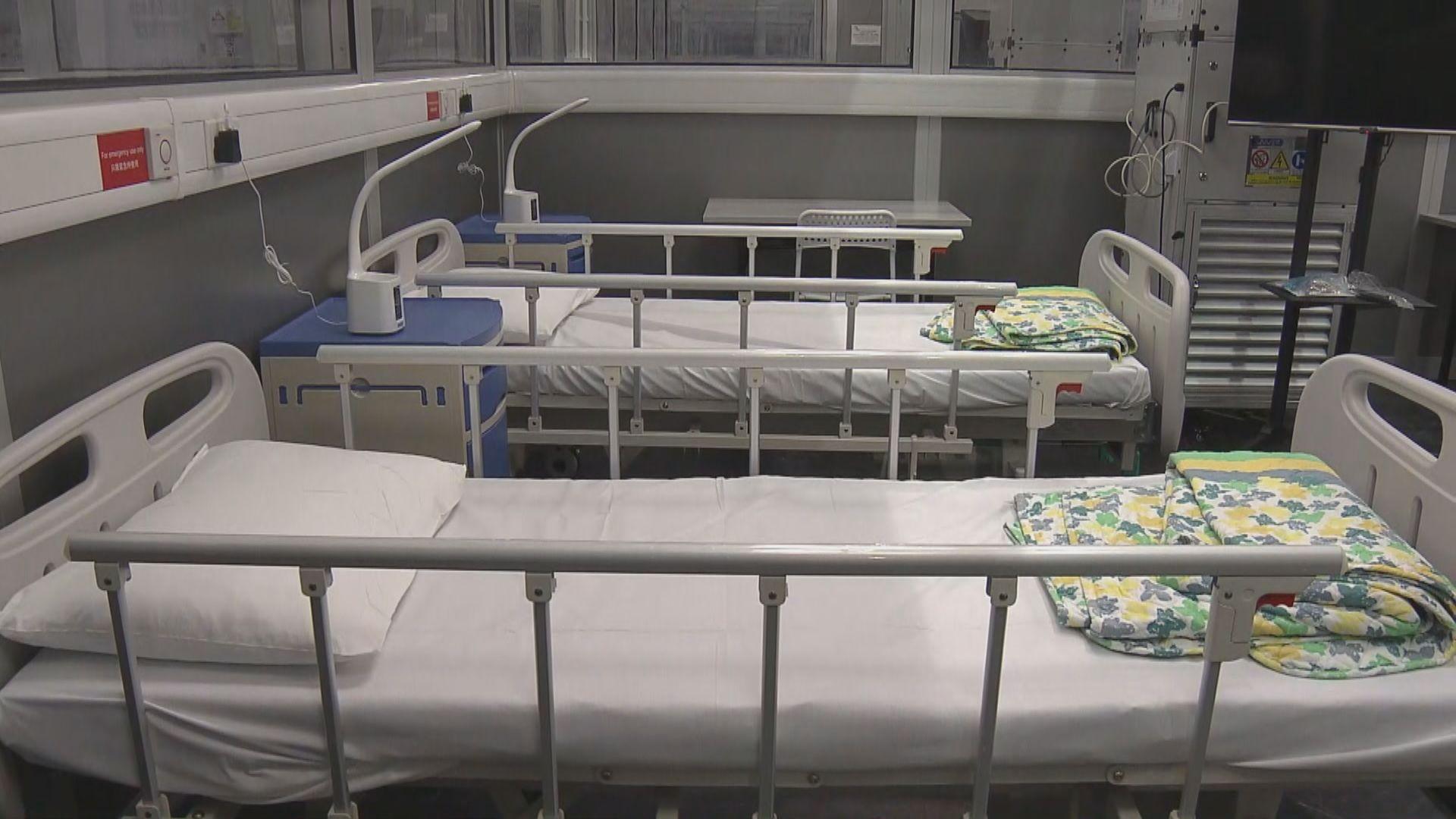 亞博八、十號展館社區治療設施接收有自理能力輕症患者