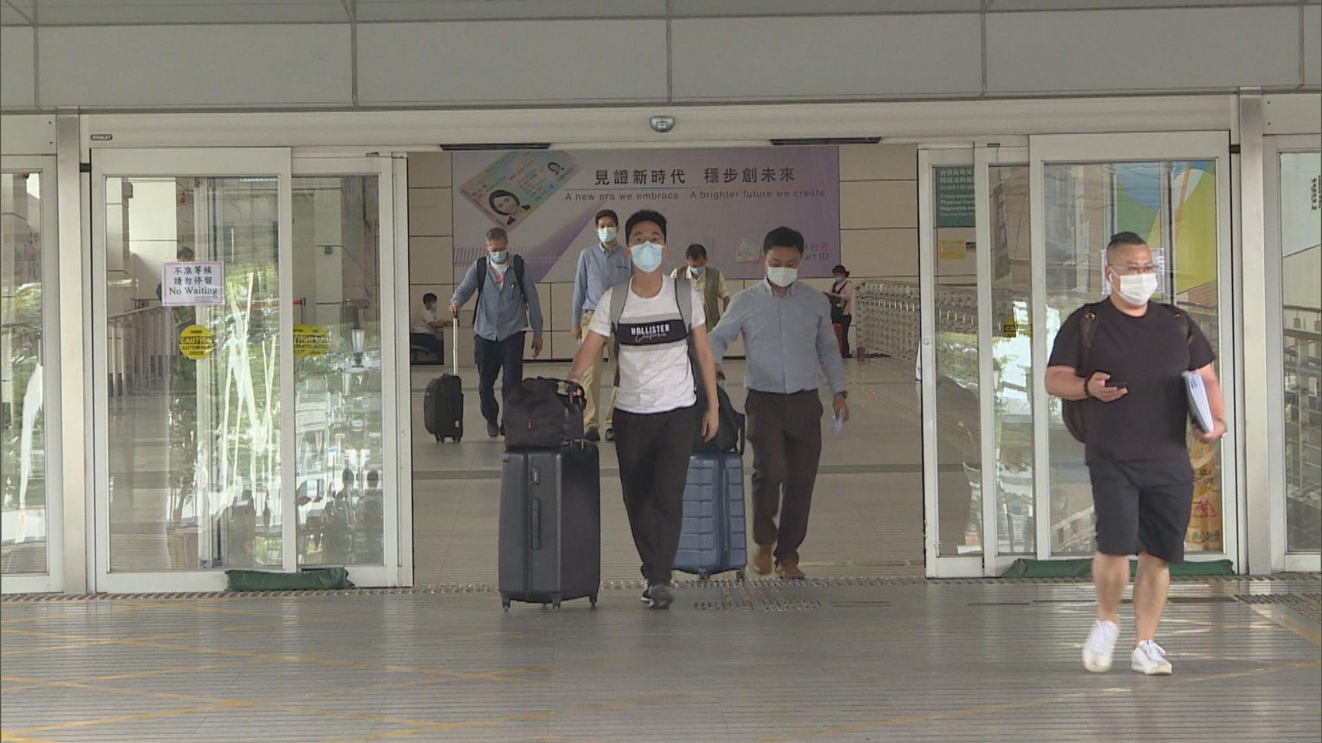 港府暫停廣東、安徽及遼寧省返港人士以回港易豁免檢疫