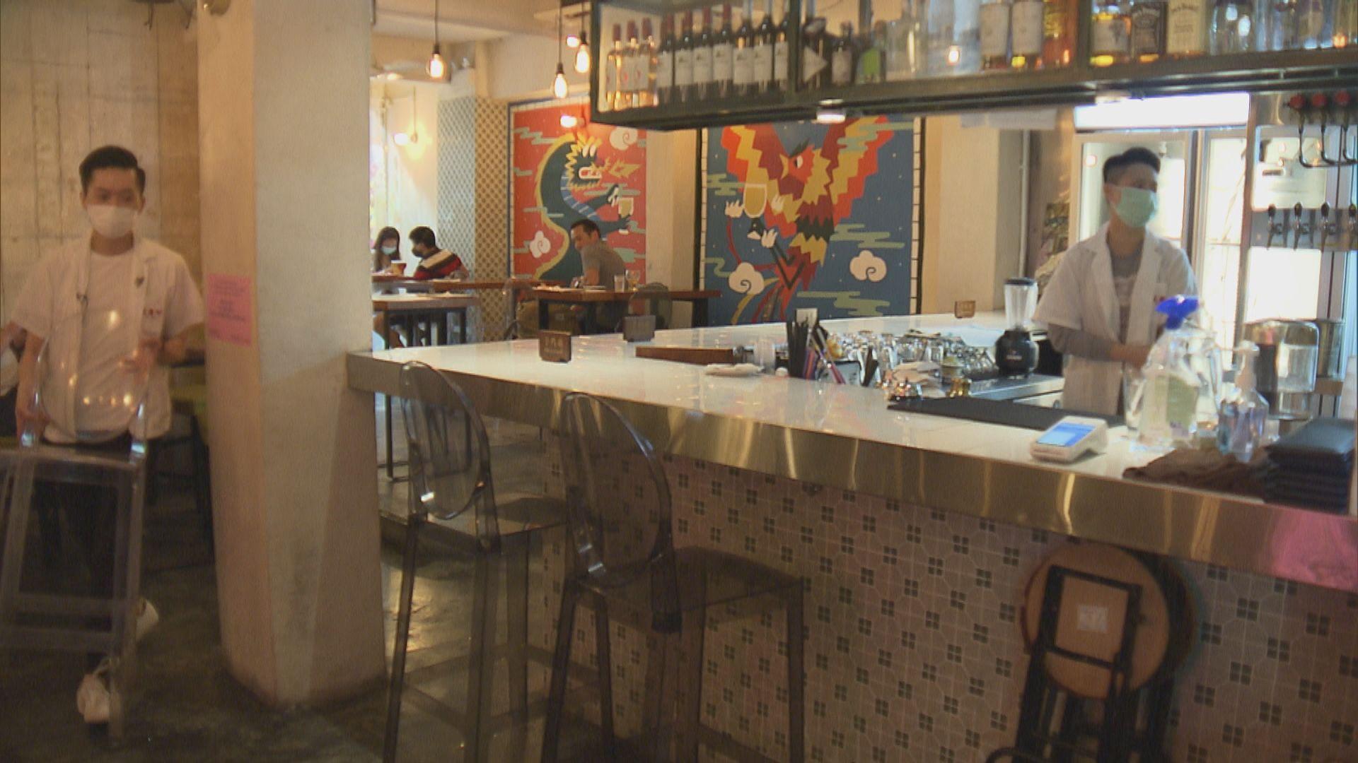 蘭桂坊大部分酒吧關門 有餐廳繼續營業但封閉吧檯