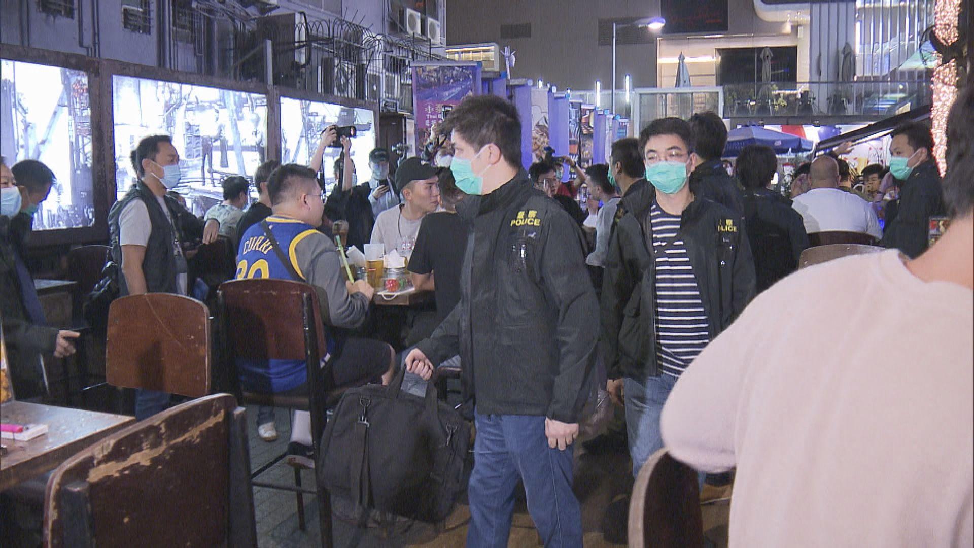 警巡查尖沙咀多間娛樂場所 六人被捕