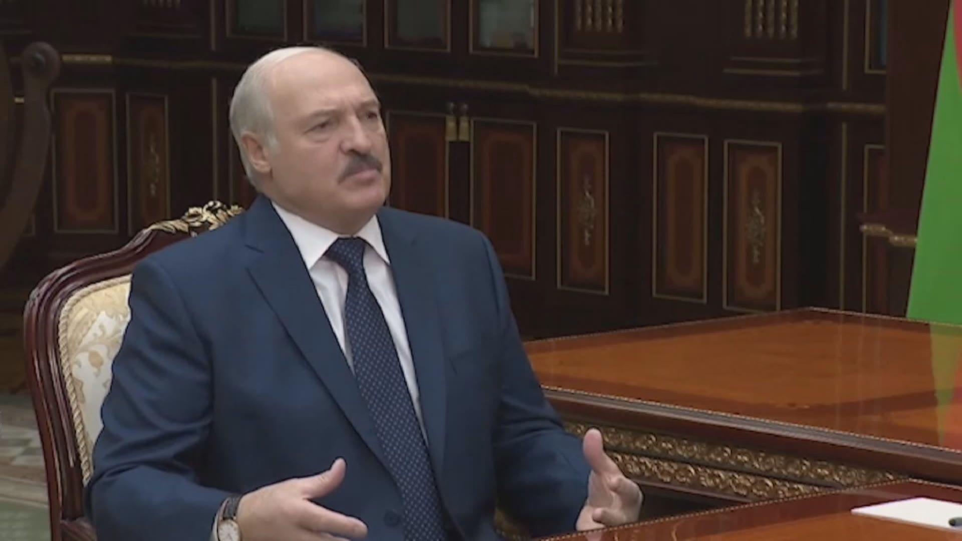 白俄羅斯總統盧卡申科稱曾染疫