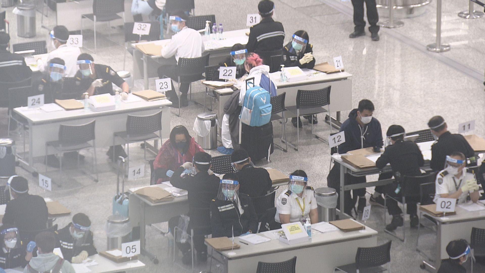 政府加強北京抵港人士的檢測安排