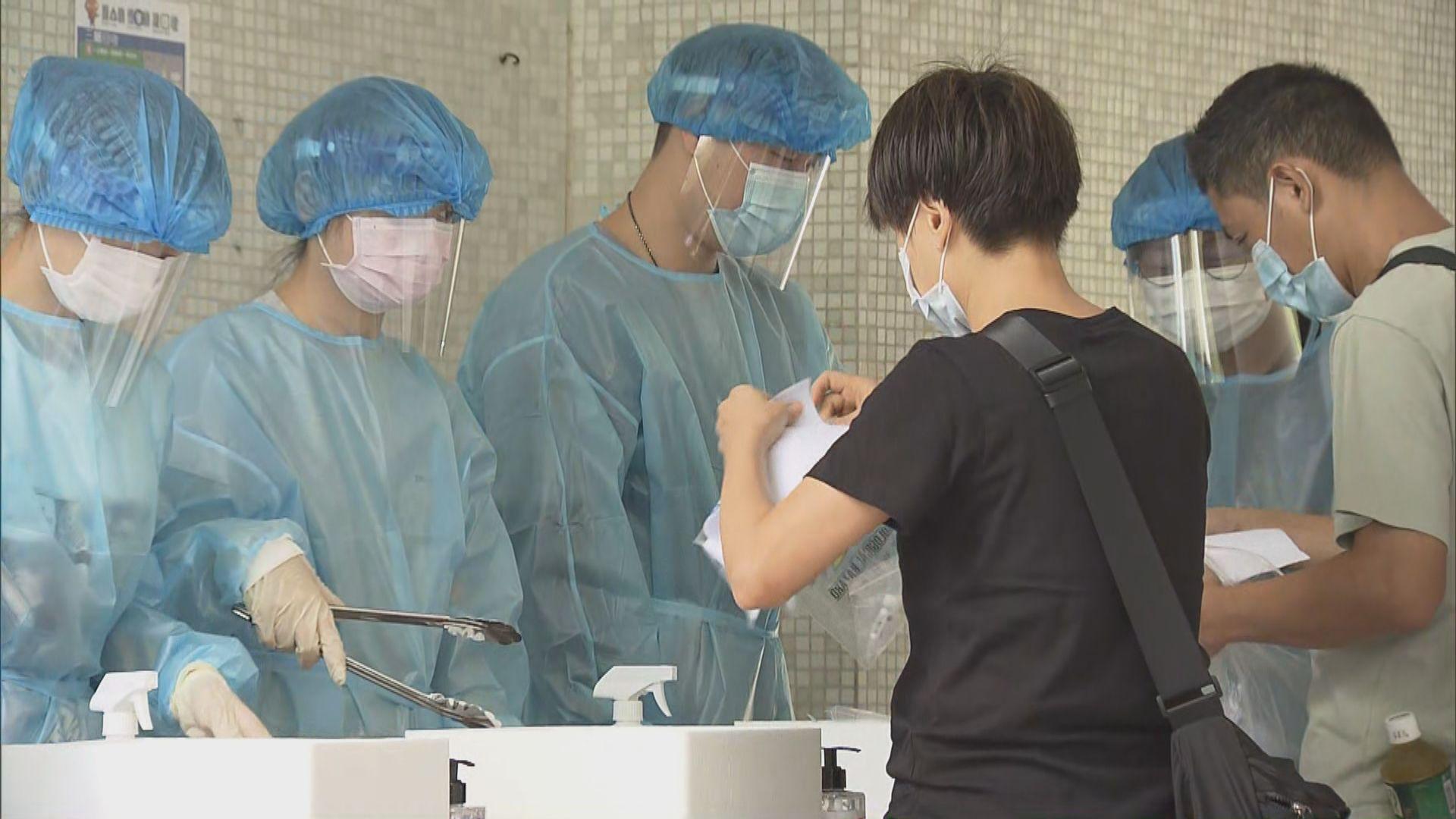 社區檢測計劃收回超過三萬份樣本 一人確診
