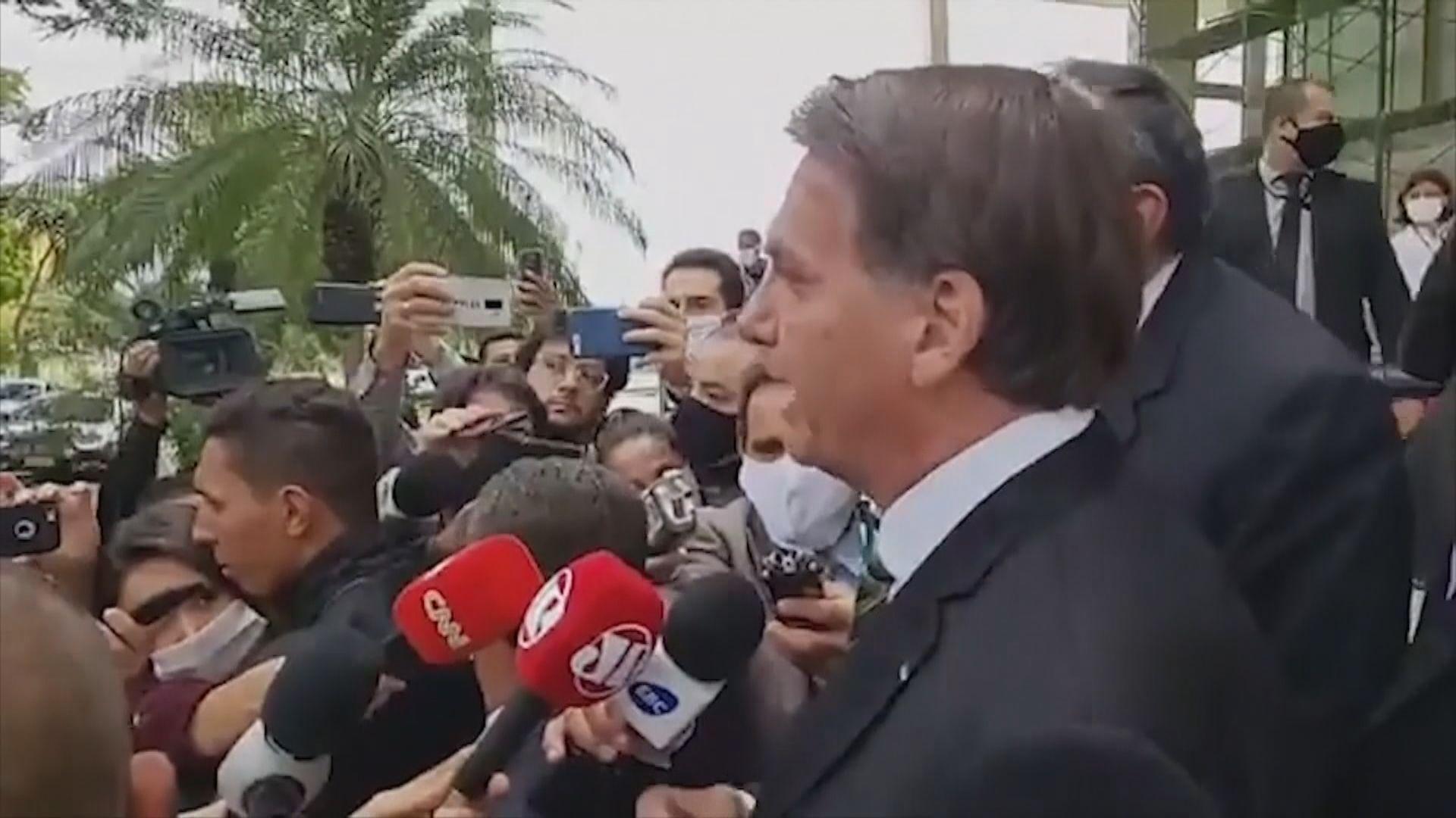 巴西總統重申要解除防疫措施以振興經濟