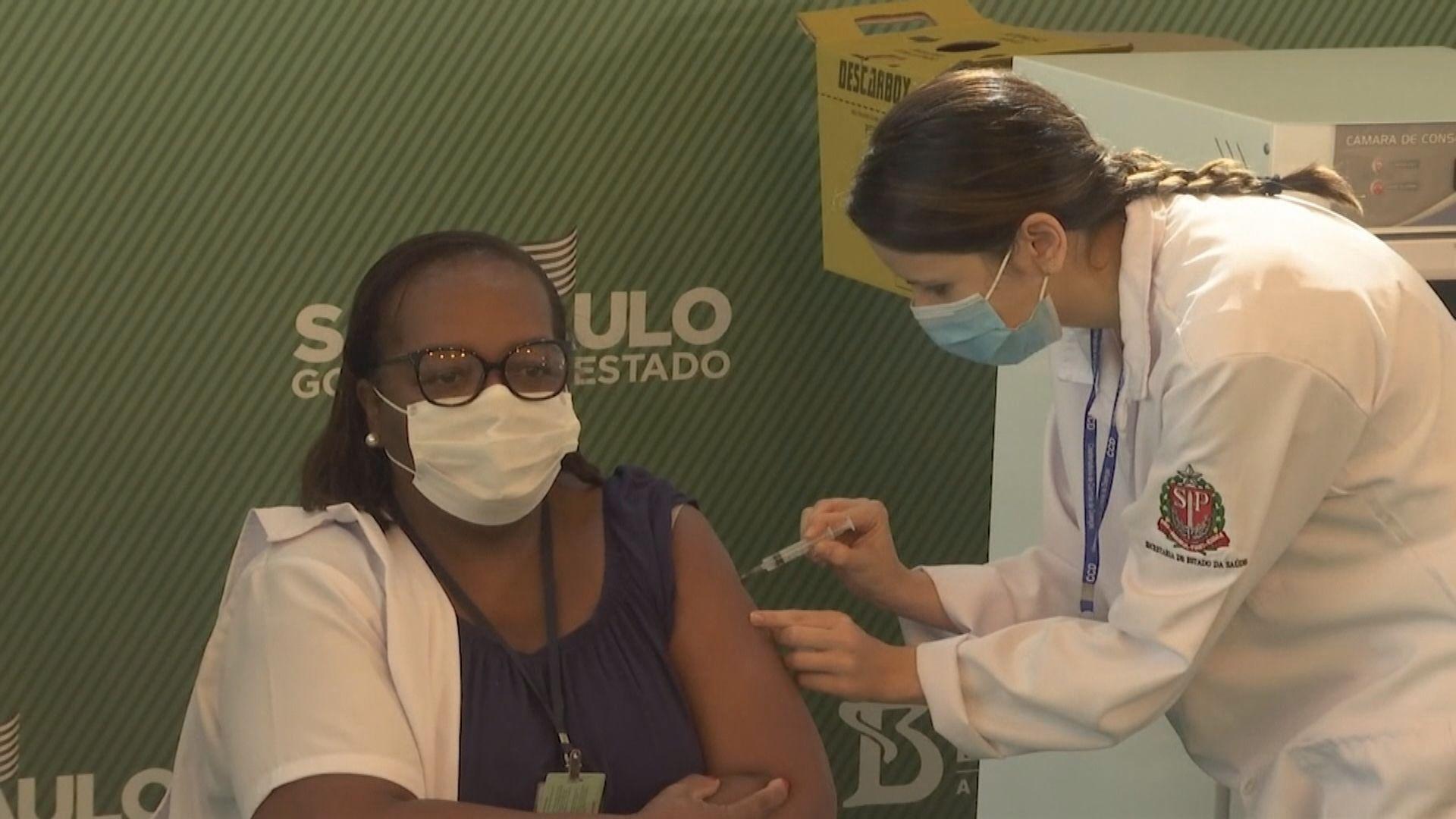 巴西批准緊急使用中國科興及阿斯利康疫苗