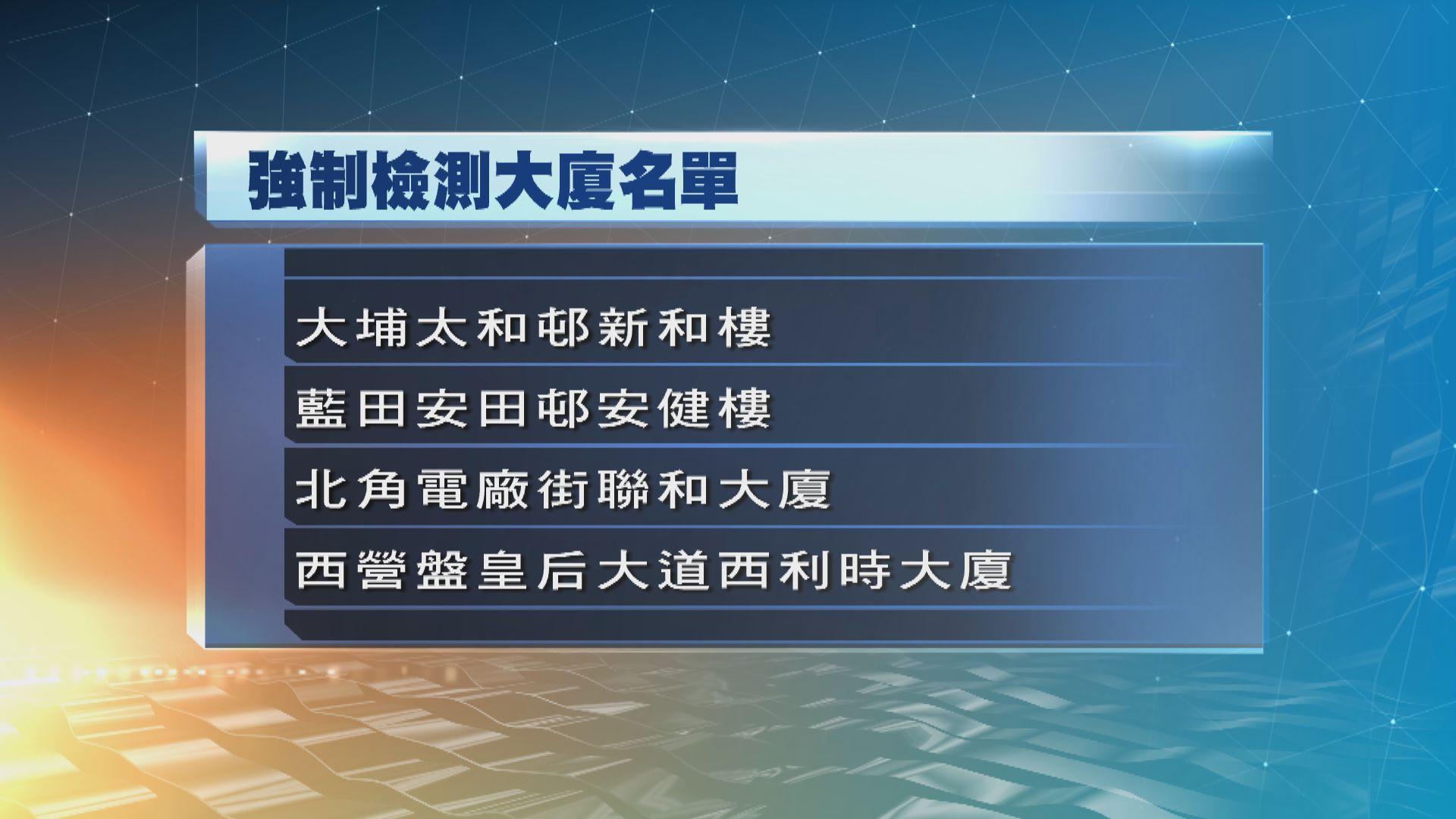 政府刊憲將7幢大廈納入強制檢測公告