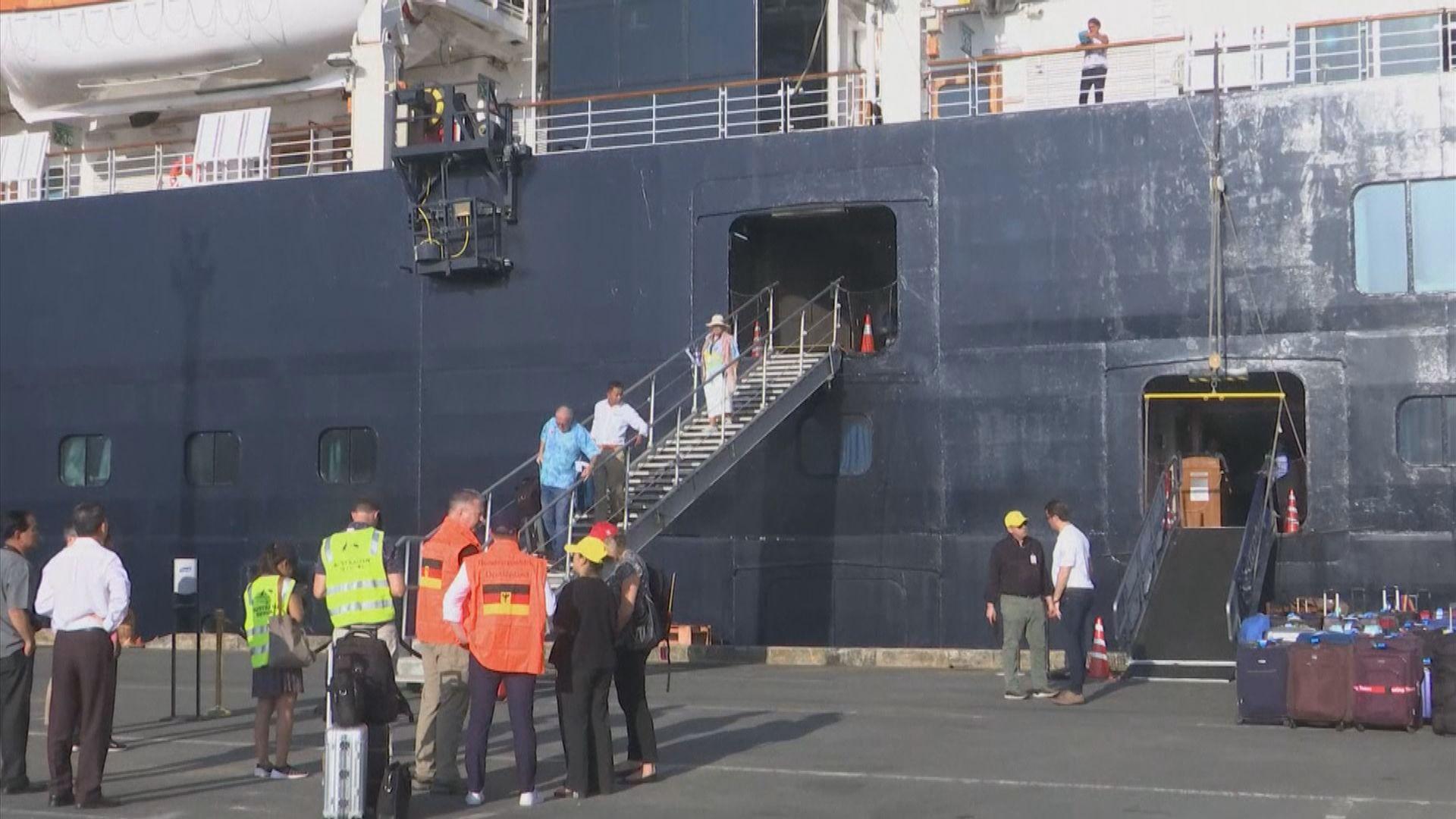 威士丹特號被隔離乘客獲准離開馬來西亞