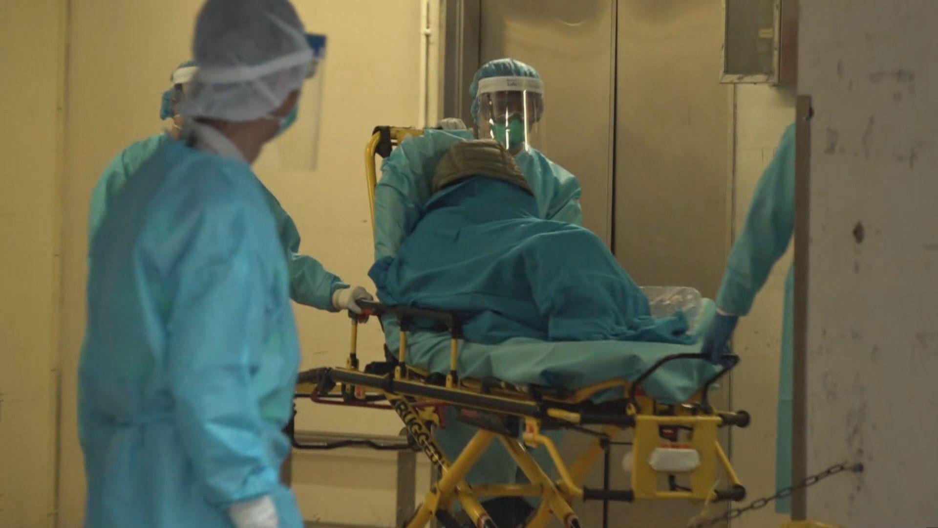 72歲女病人確診新型冠狀病毒 本港累計15人確診