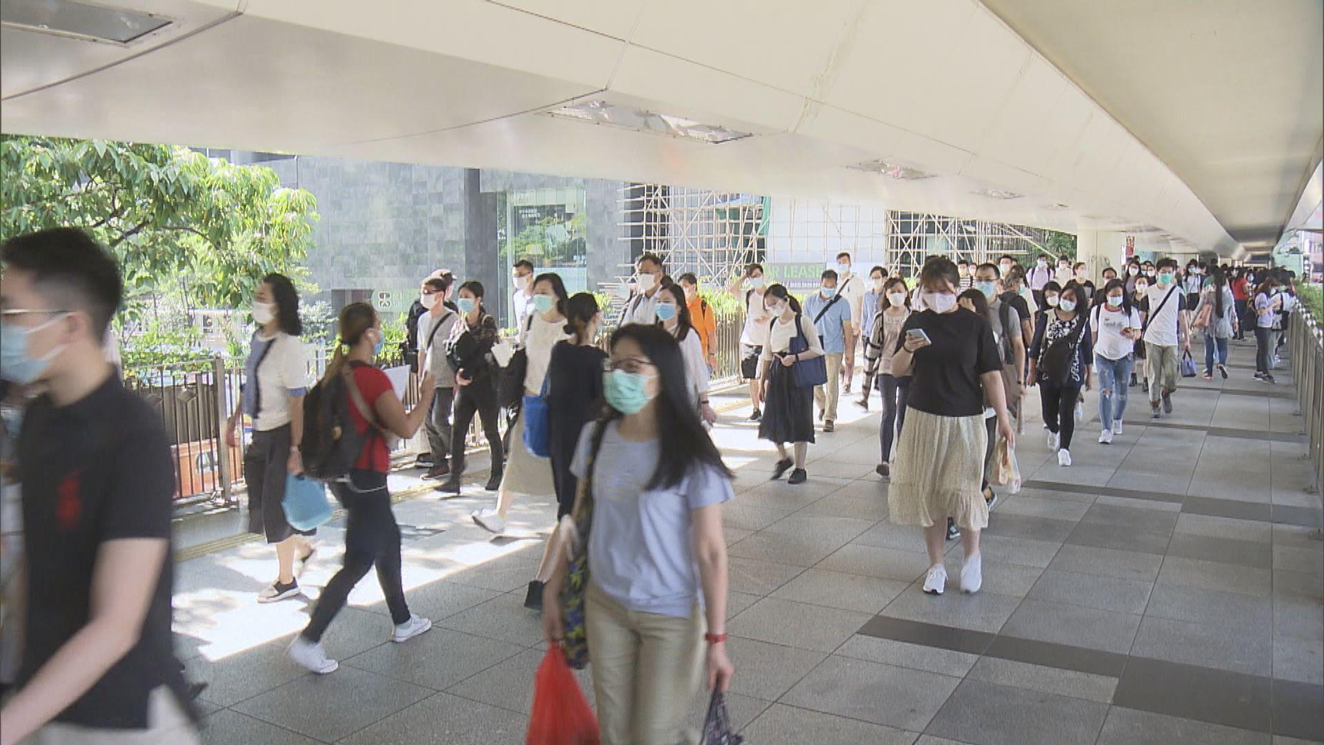 林鄭月娥:50人限聚令非打壓示威 防疫不涉政治考慮