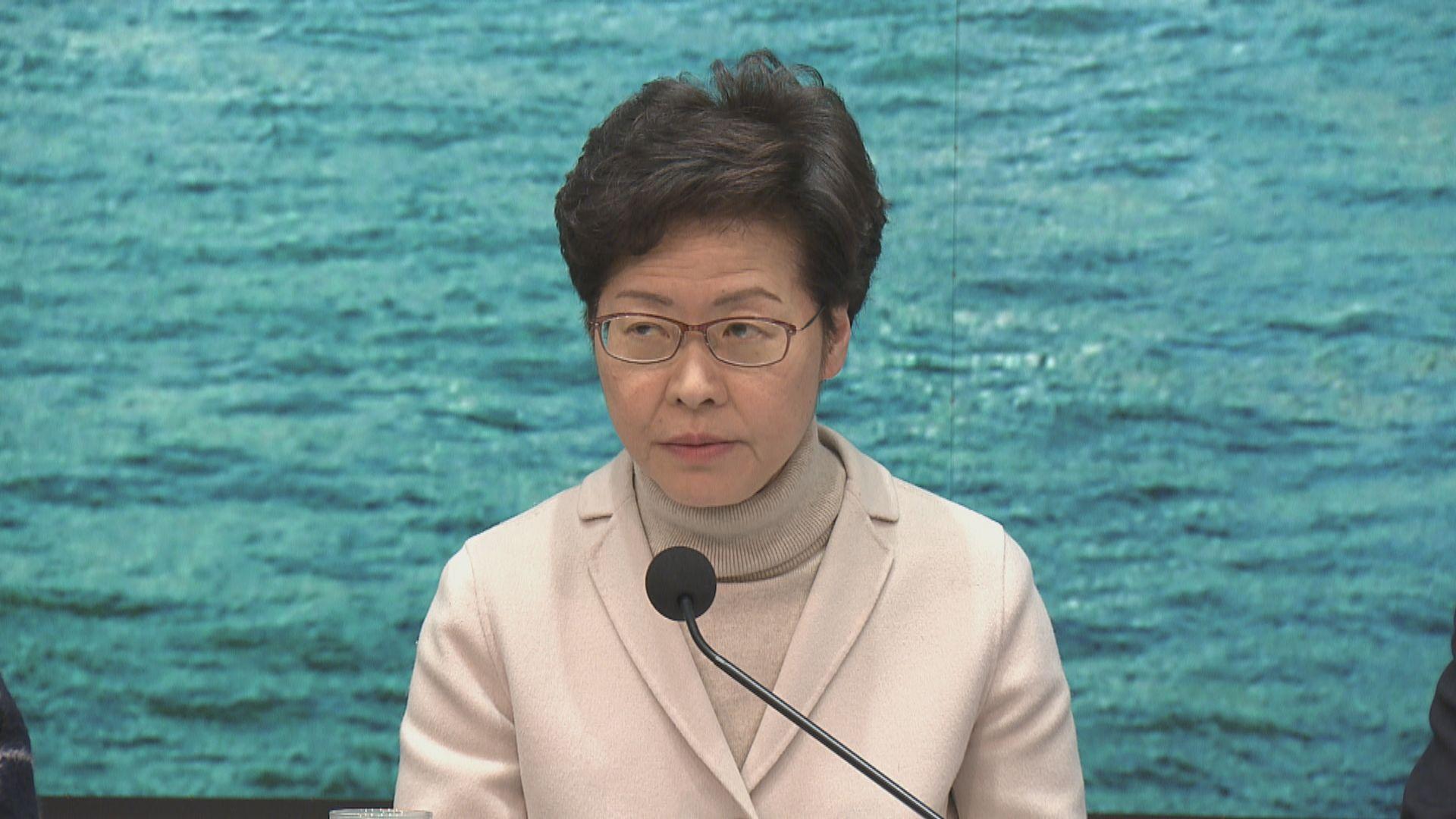 林鄭:政府與醫護人員目標一致