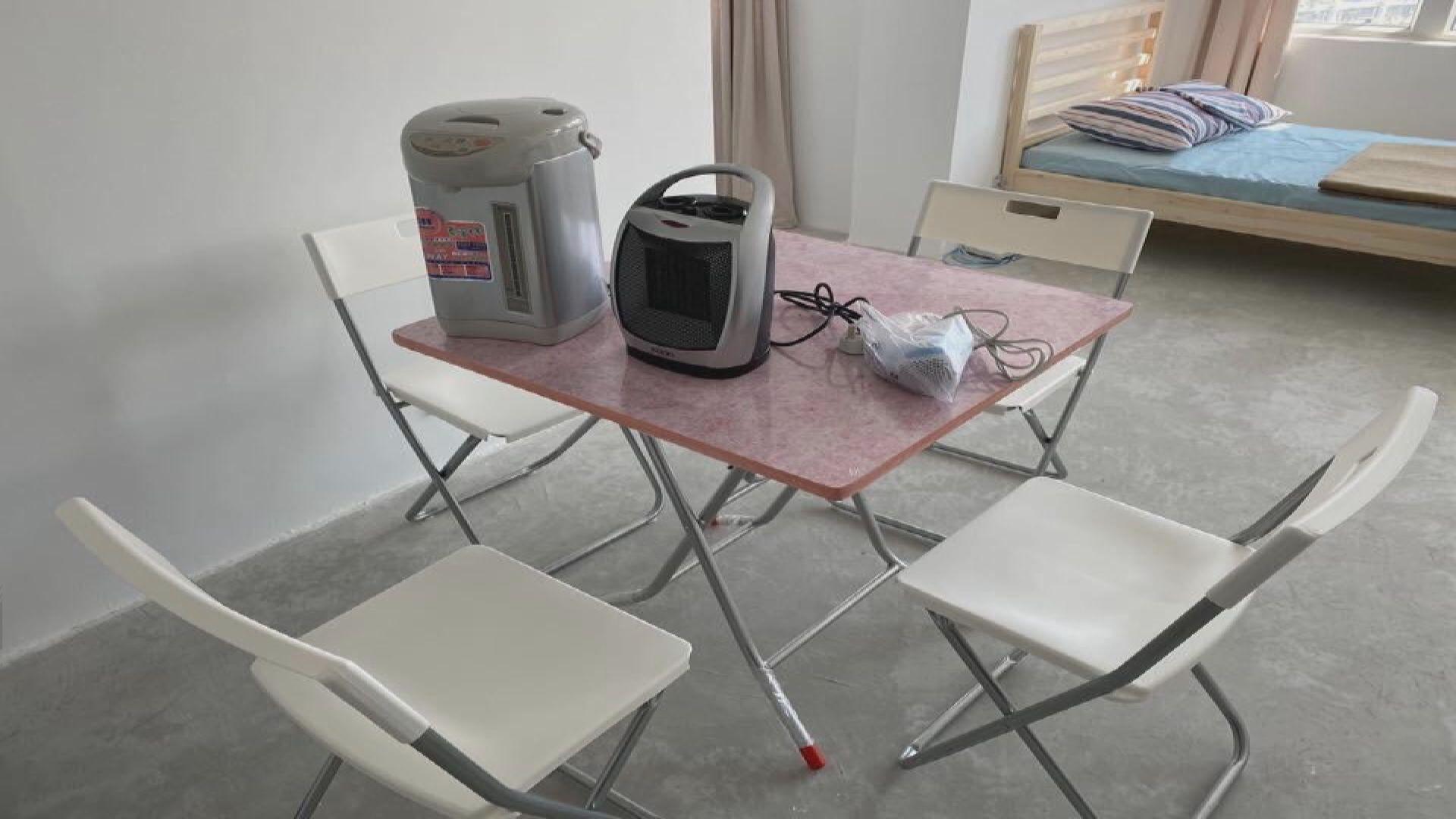 政府已準備駿洋邨檢疫中心單位基本設施