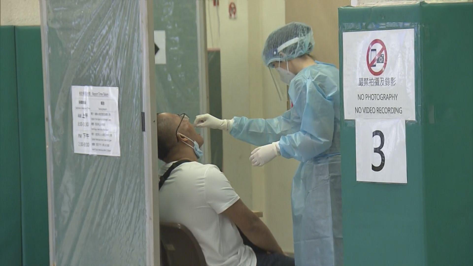 四個社區檢測中心首日為逾2300名市民做檢測