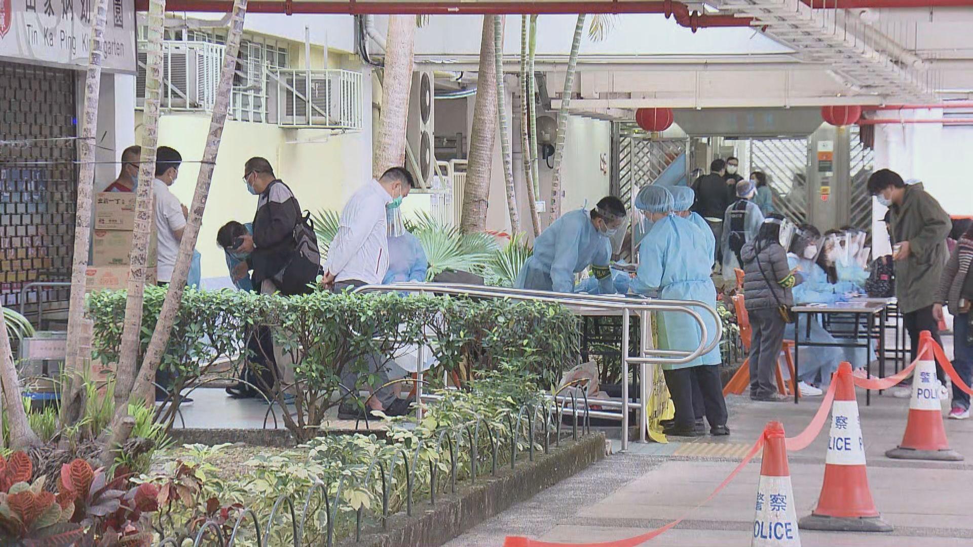 乙明邨明恩樓76人違強制檢測 遭警告獲安排檢測