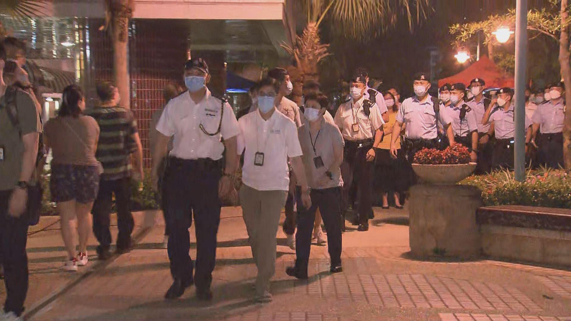 海怡半島第10座封區檢測 目標明早8時完成