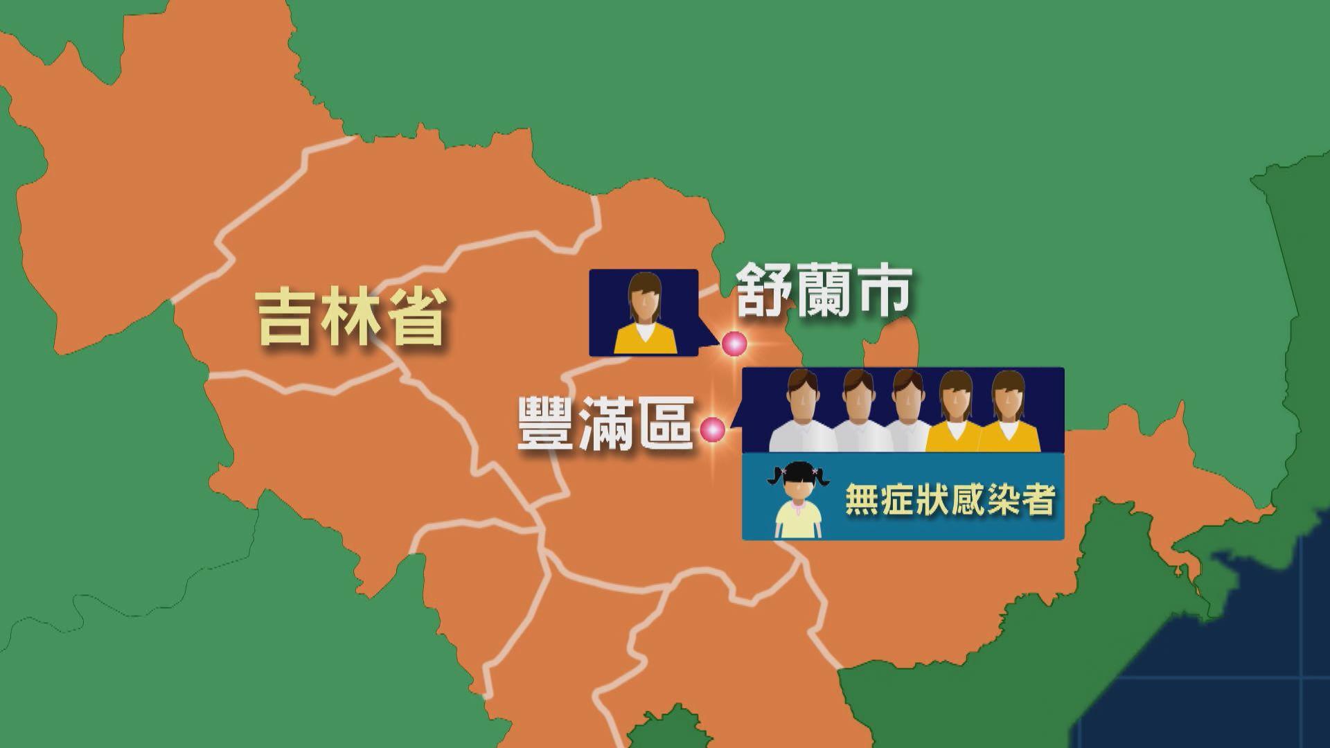 吉林省舒蘭市感染群組源頭仍在調查