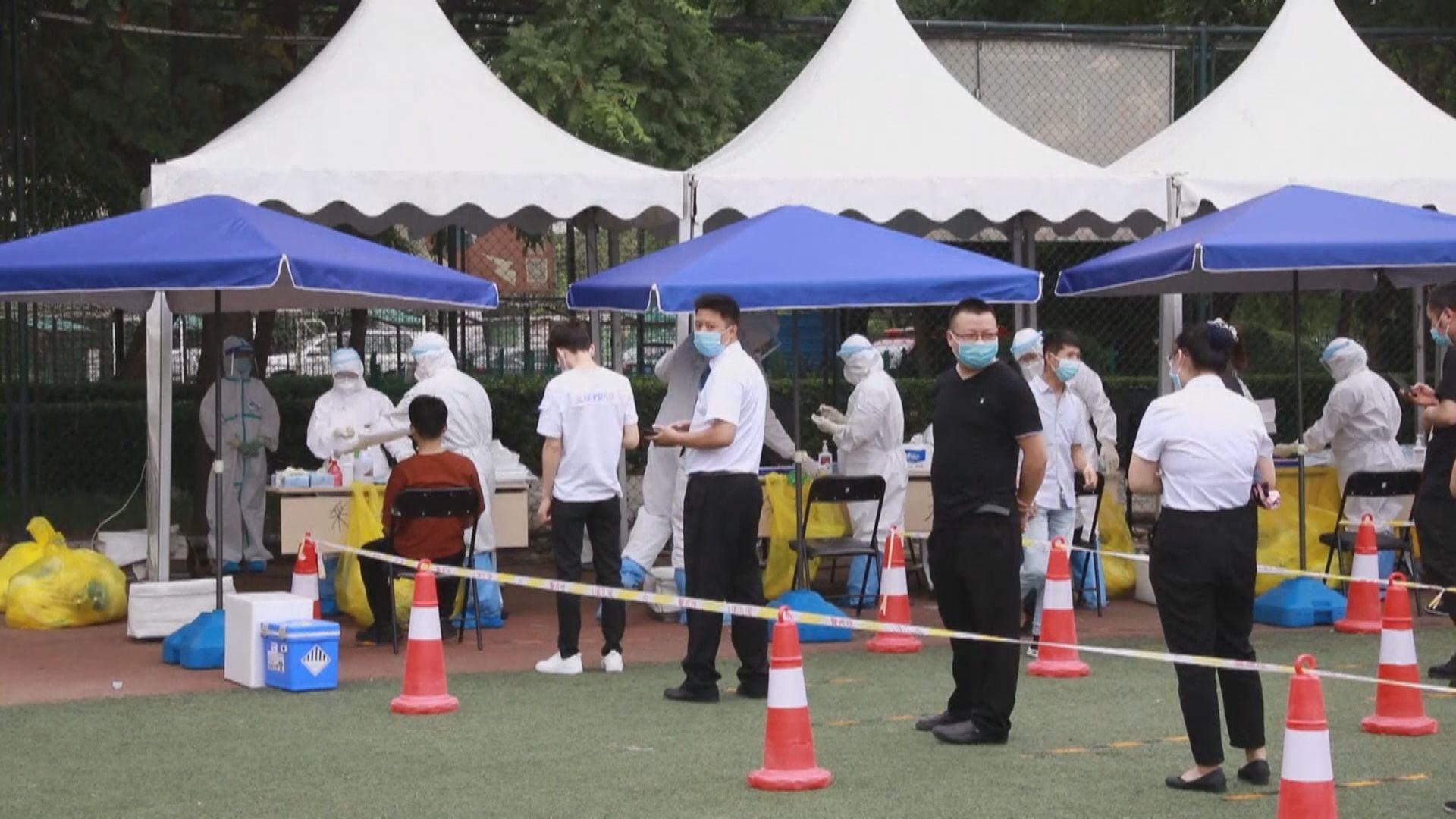 北京餐廳七員工確診 餐飲業人員全面核酸檢測