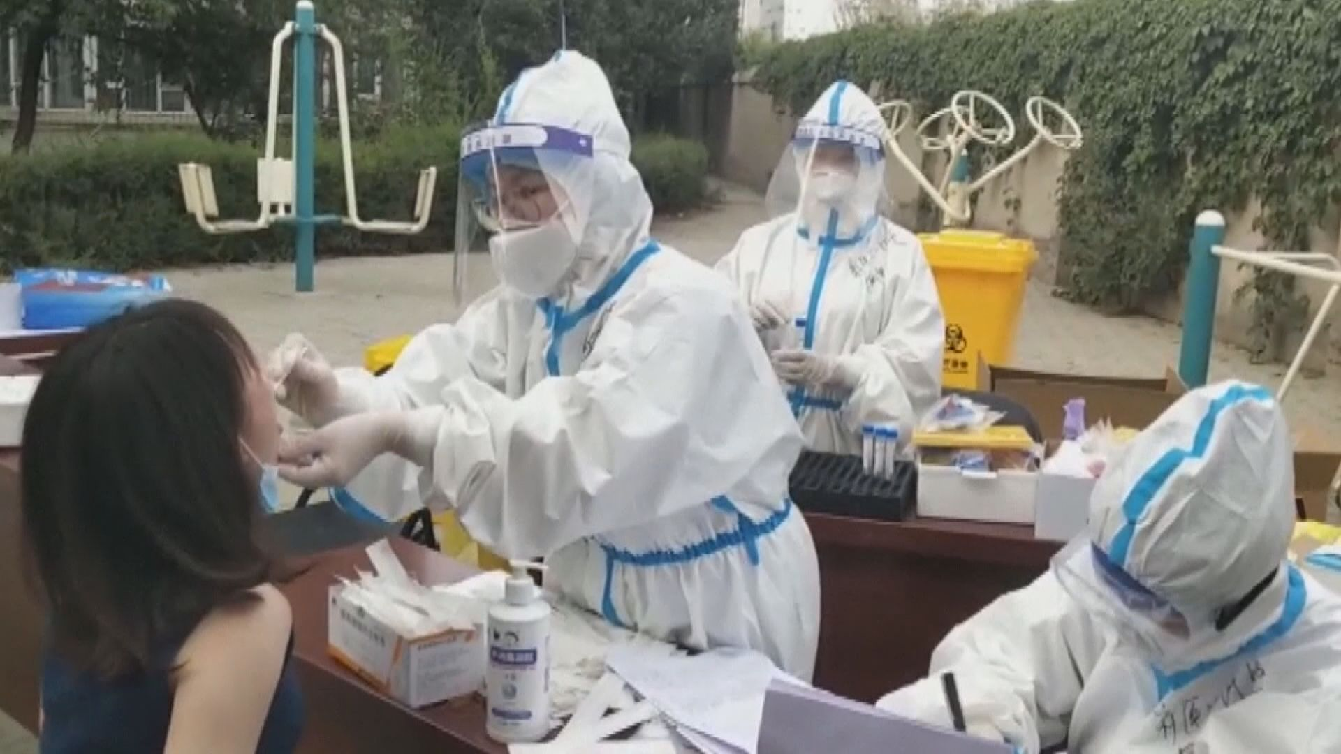 國家衞健委派工作組前往新疆喀什 指導疫情防控