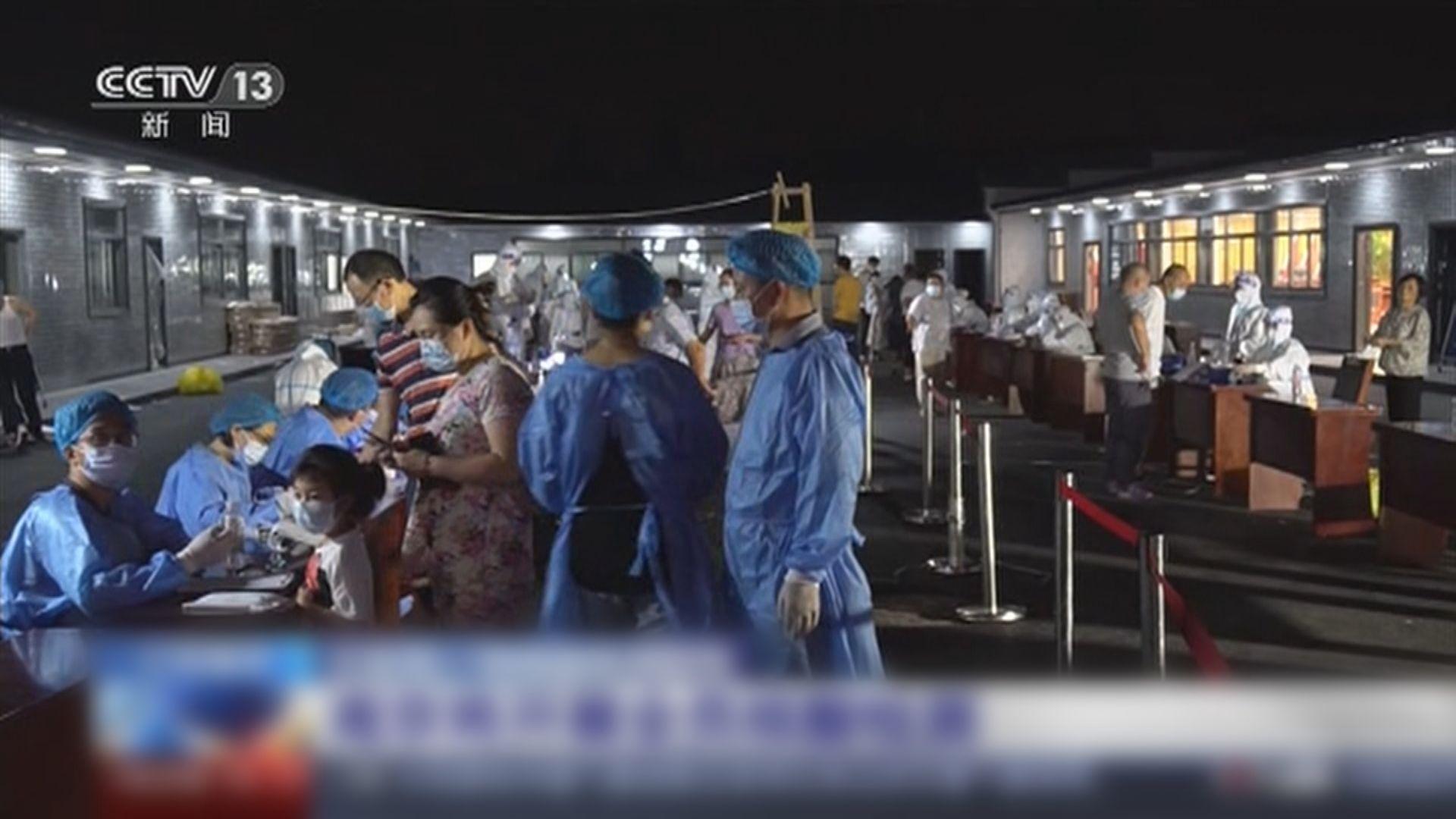 南京機場九人確診 當局為全市居民進行檢測