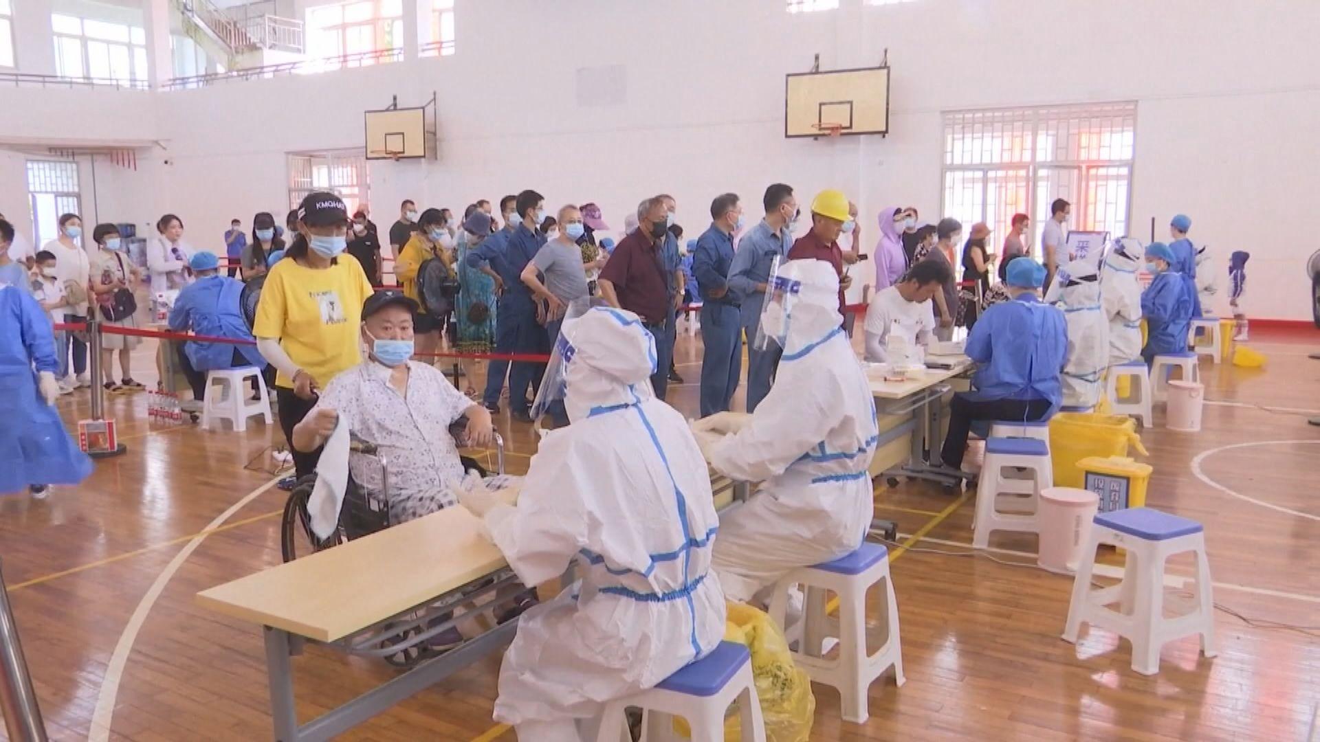 內地新增40宗新冠病毒本土病例 主要在江蘇南京